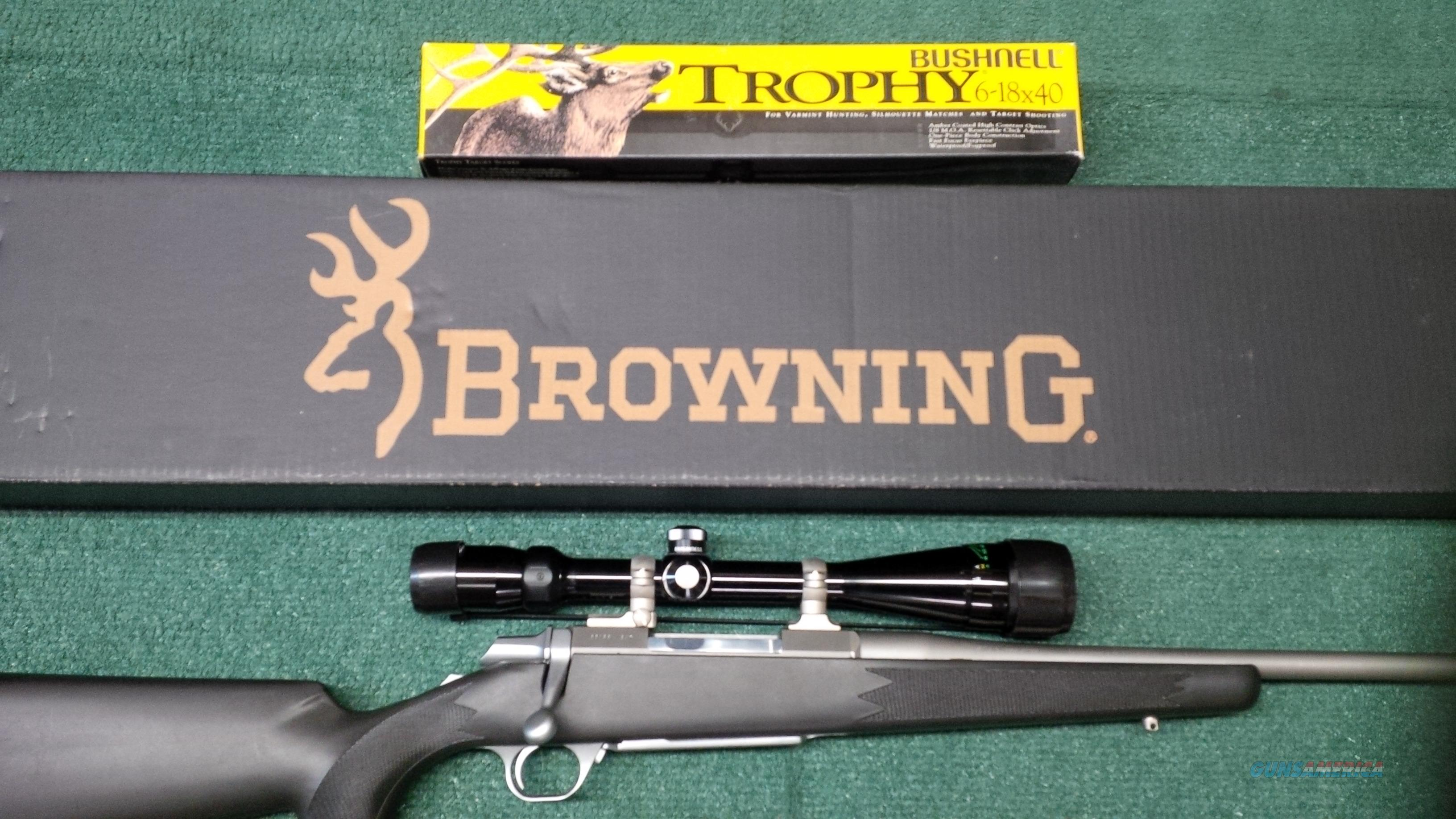 Browning A-Bolt II .270 Win. Stainless Stalker With Boss System  Guns > Rifles > Browning Rifles > Bolt Action > Hunting > Stainless
