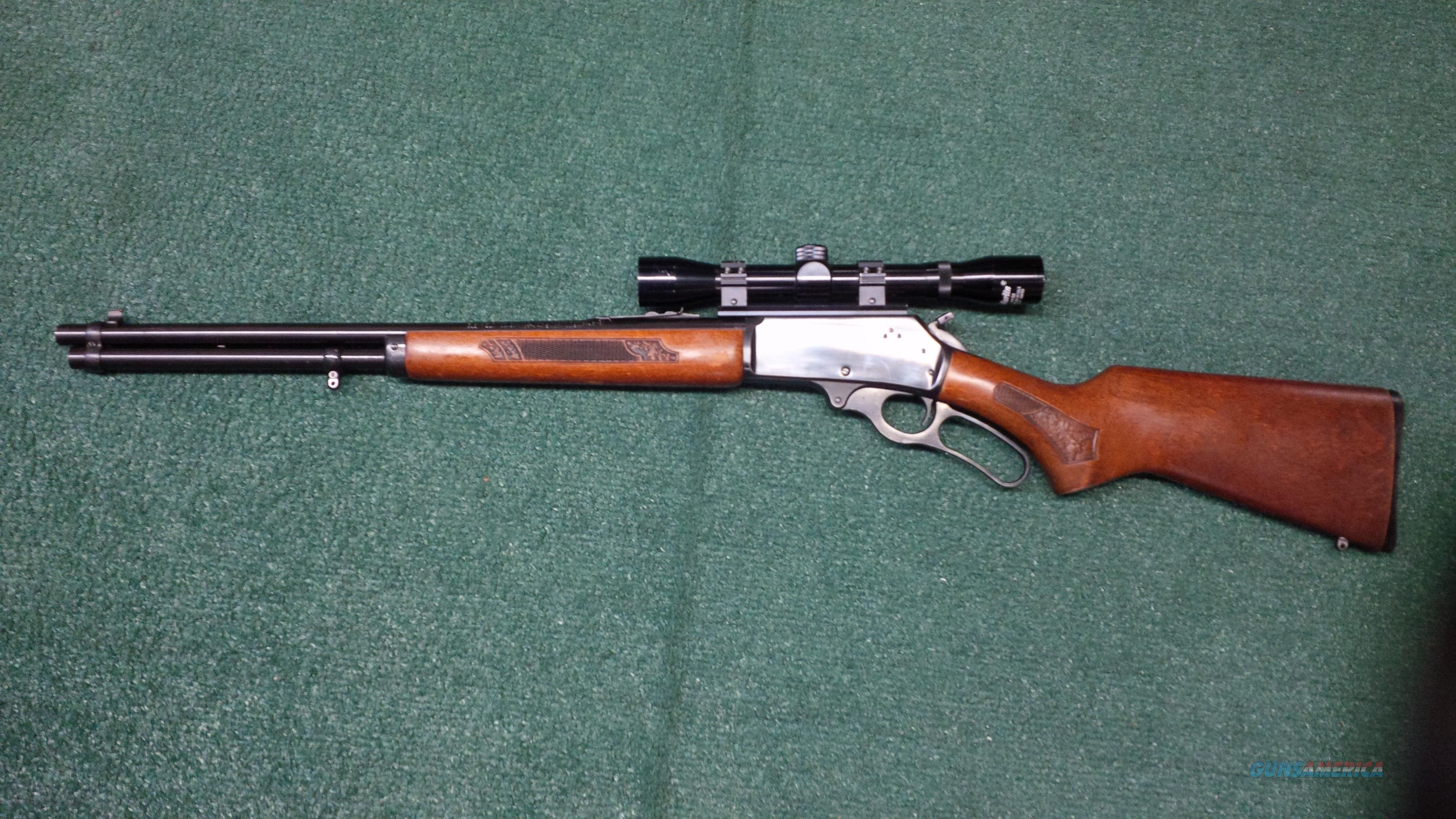 Marlin/Glenfield .30-.30 Winchester Lever Action (JM Stamped) 30A With 4X Marlin Scope  Guns > Rifles > Marlin Rifles > Modern > Lever Action