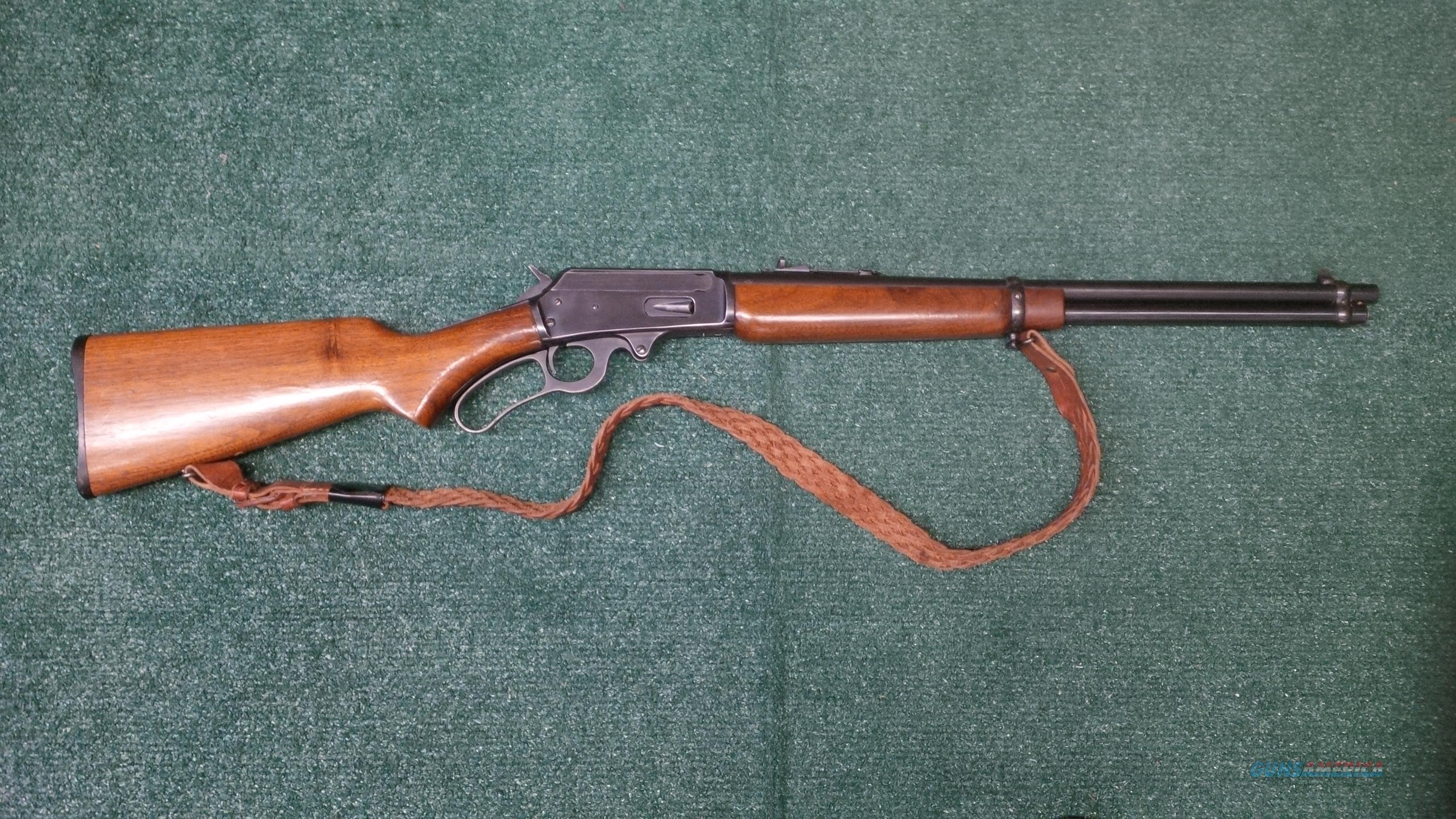 Marlin 36-RC .30-30 Winchester Lever Action Rifle  Guns > Rifles > Marlin Rifles > Modern > Lever Action