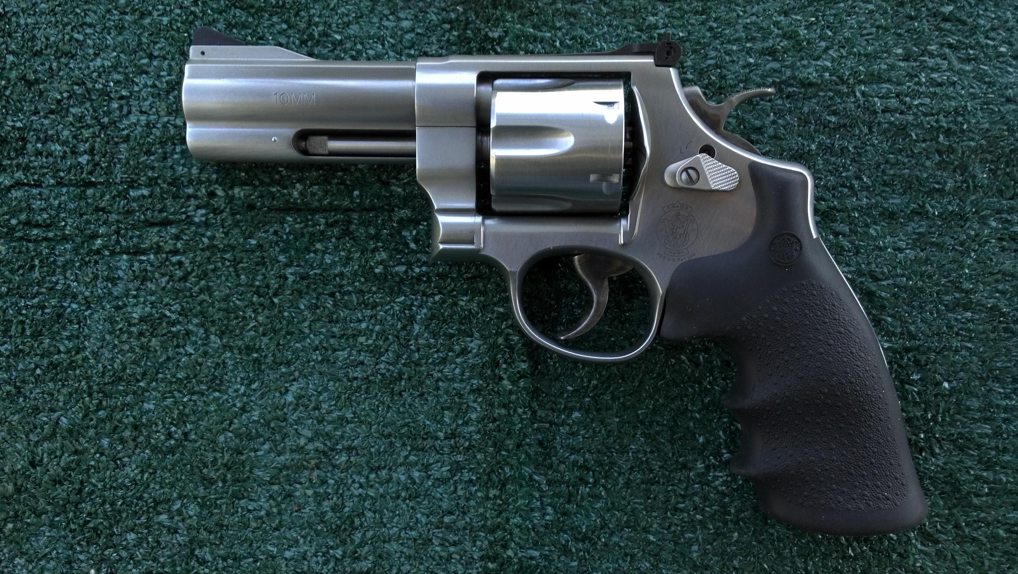 Smith And Wesson N Frame Combat Grips S W N Frame Sq Butt