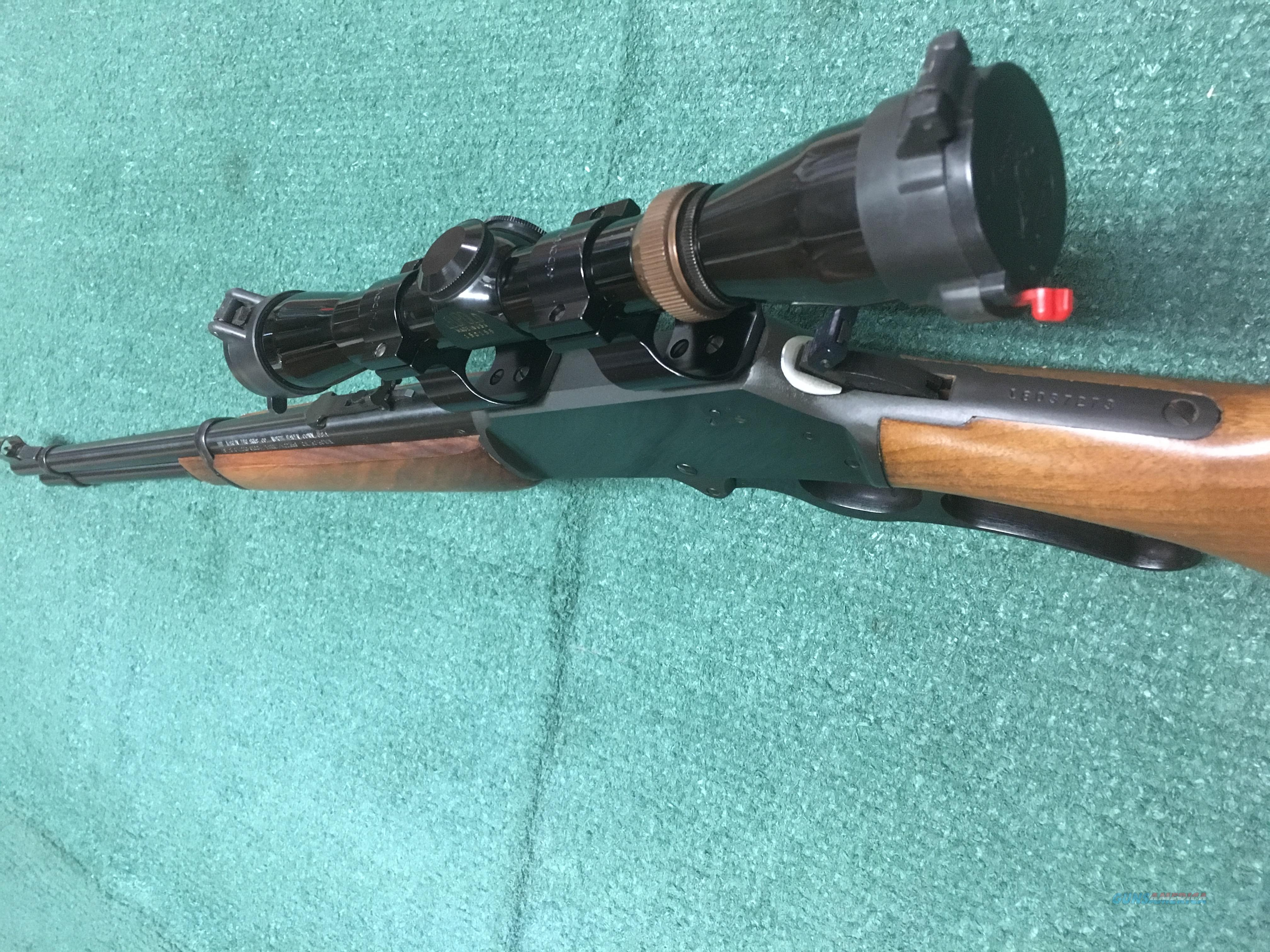 Marlin 336 (JM Stamped) .30-.30 Winchester Lever Action Rifle With Leupold 2x7x32 Vari-X II Scope   Guns > Rifles > Marlin Rifles > Modern > Lever Action