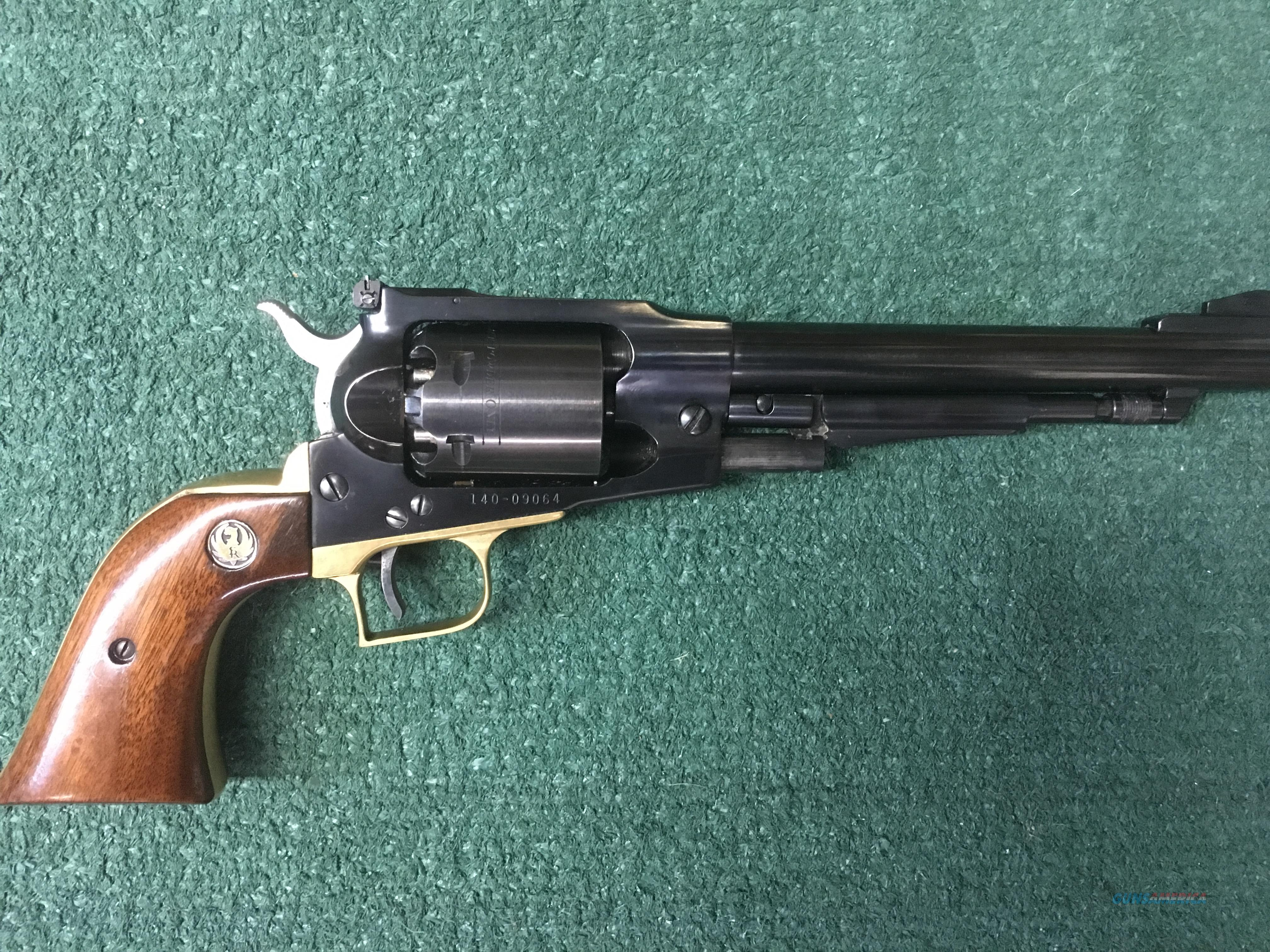 Ruger Old Army .44 Caliber RARE!! Brass Trigger Guard and Back Strap Black Powder 6 shot Revolver  Guns > Pistols > Ruger Cap & Ball Revolvers