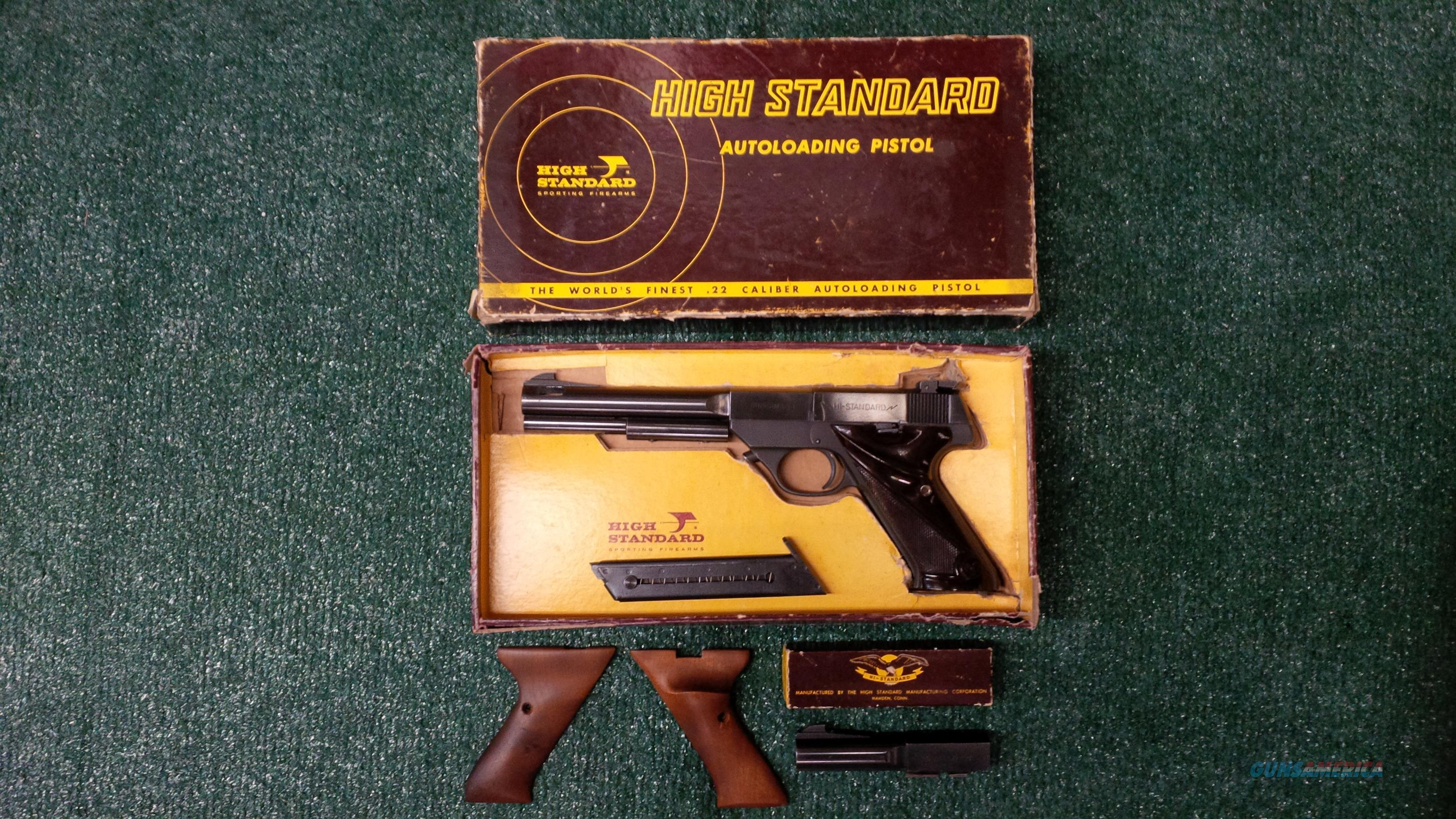 High Standard Supermatic S-101 .22lr Pistol PRICE REDUCED!!!  Guns > Pistols > High Standard Pistols