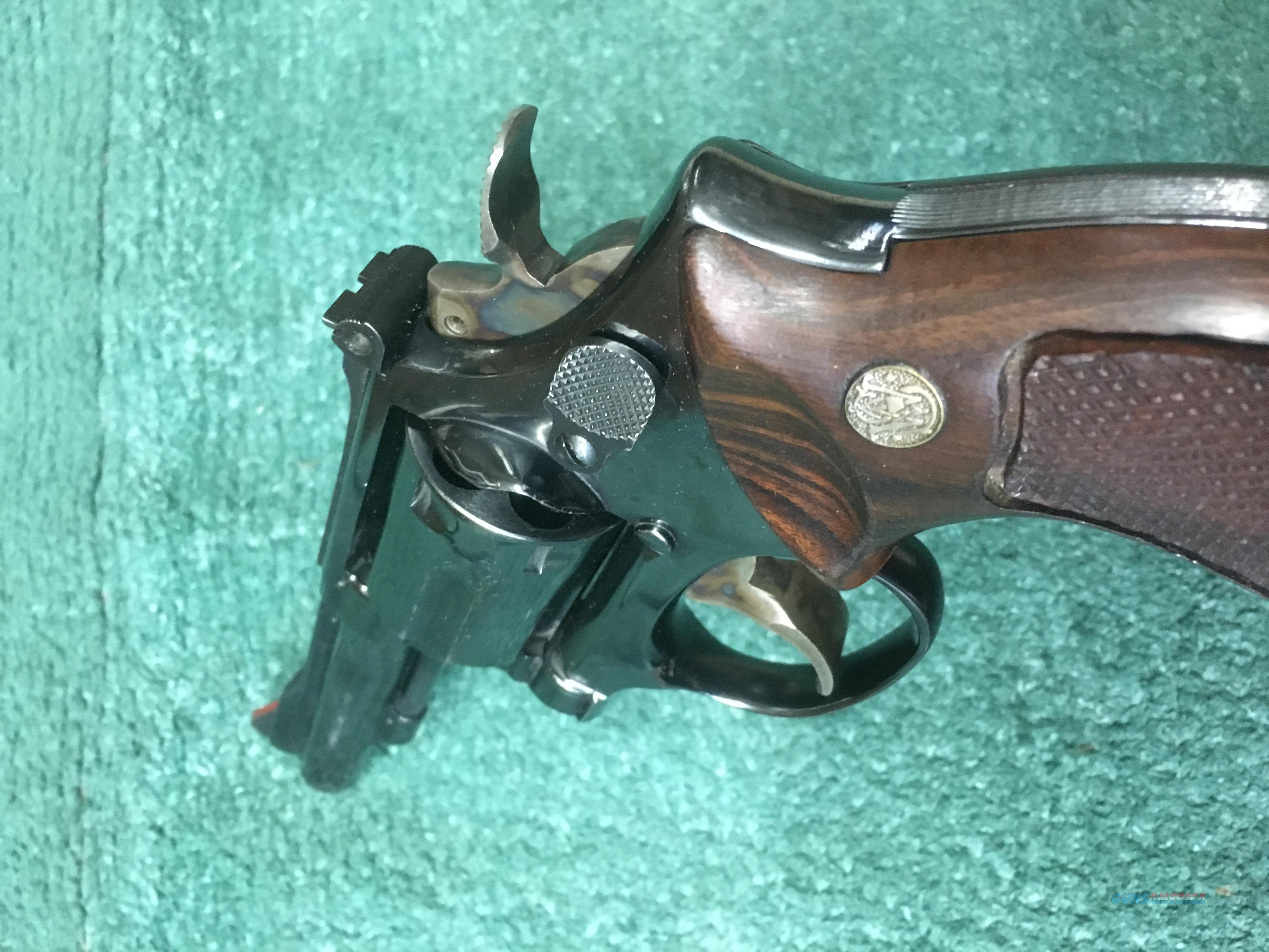 Smith & Wesson 15-4 .38 Special 4 Inch Revolver Blue  Guns > Pistols > Smith & Wesson Revolvers > Med. Frame ( K/L )