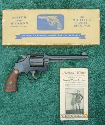 Smith And Wesson .38 Military and Police .38 S&W Special Caliber  Guns > Pistols > Smith & Wesson Revolvers > Pre-1945