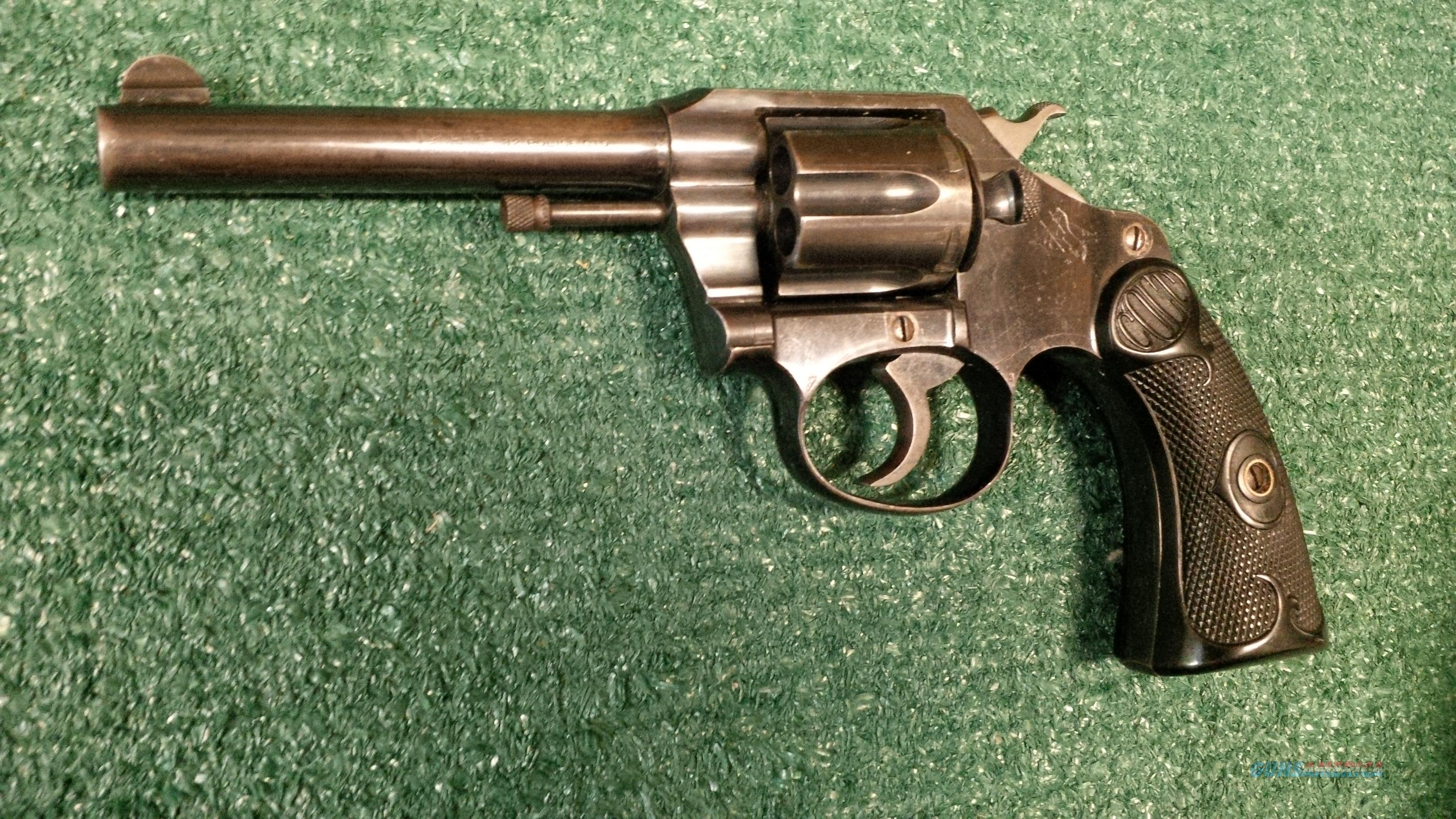 Colt Police Positive .32 Police Ctg 4 Inch FIRST YEAR PRODUCTION!! Double Action Revolver   Guns > Pistols > Colt Double Action Revolvers- Pre-1945