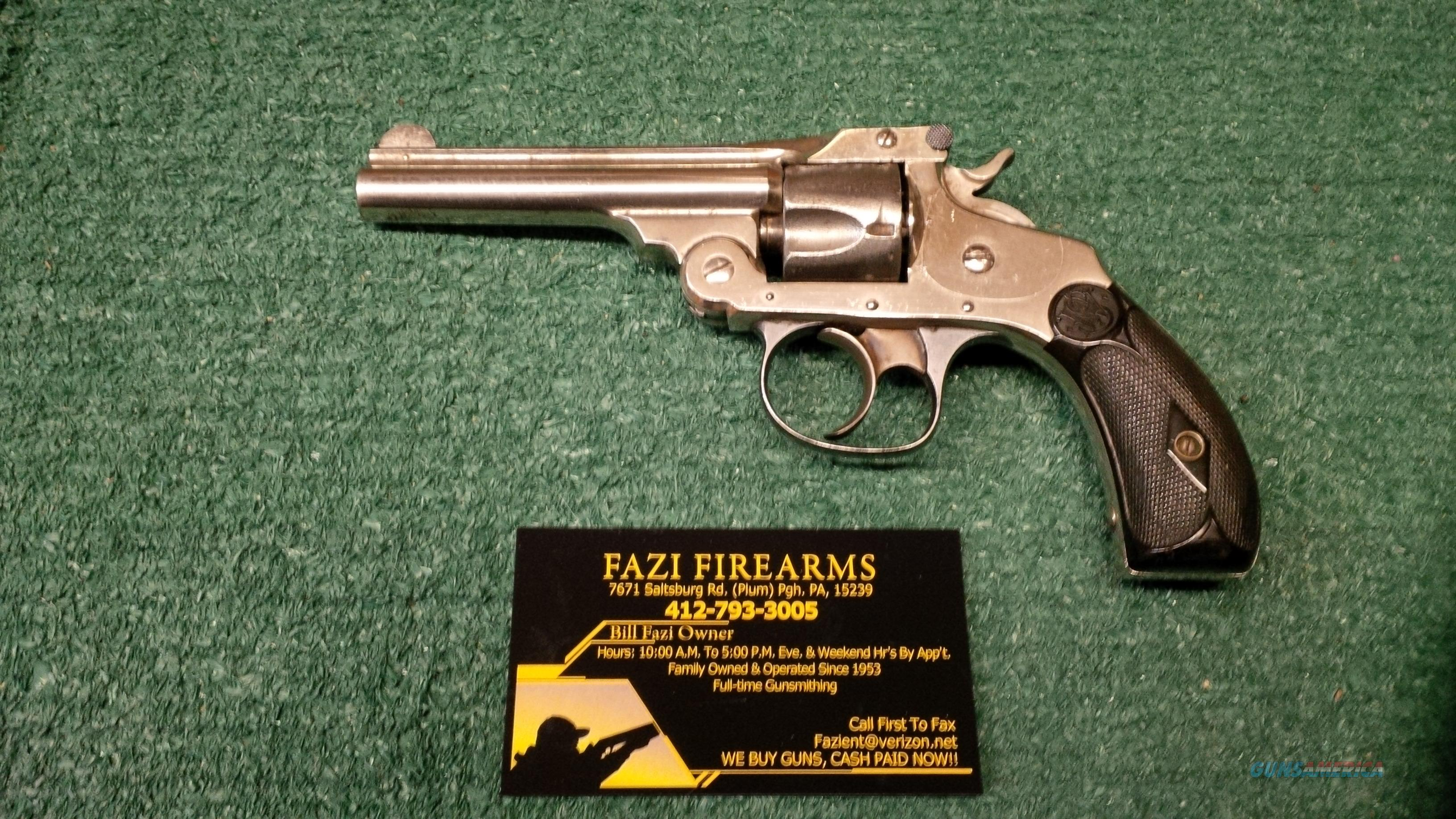 Smith & Wesson Top Break Model 4 .32 S&W Caliber Pre 1898 5 Shot Revolver Antique!!  Guns > Pistols > Antique (Pre-1899) Pistols - Ctg. Misc.