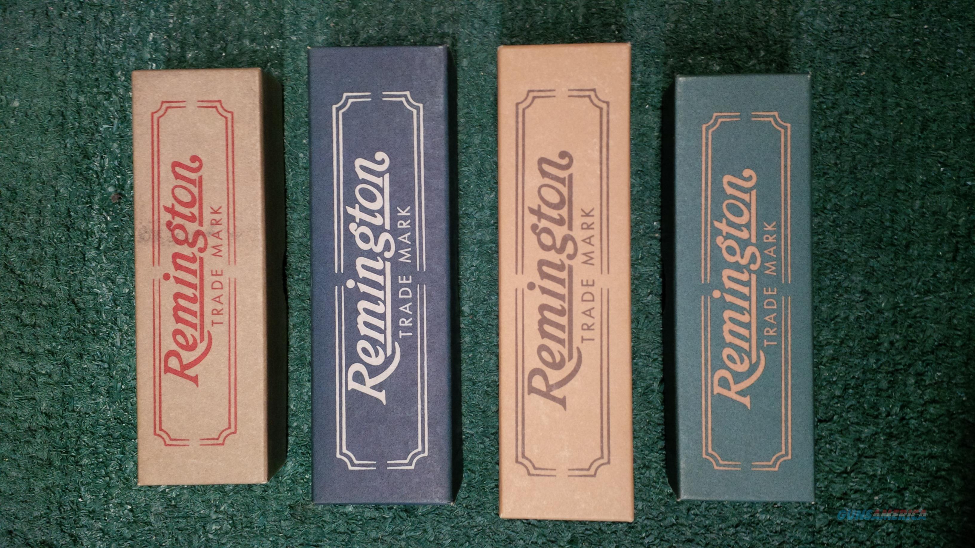 Remington Bullet Knives Collectors Editions 1993-1996  Non-Guns > Knives/Swords > Knives > Folding Blade > Hand Made