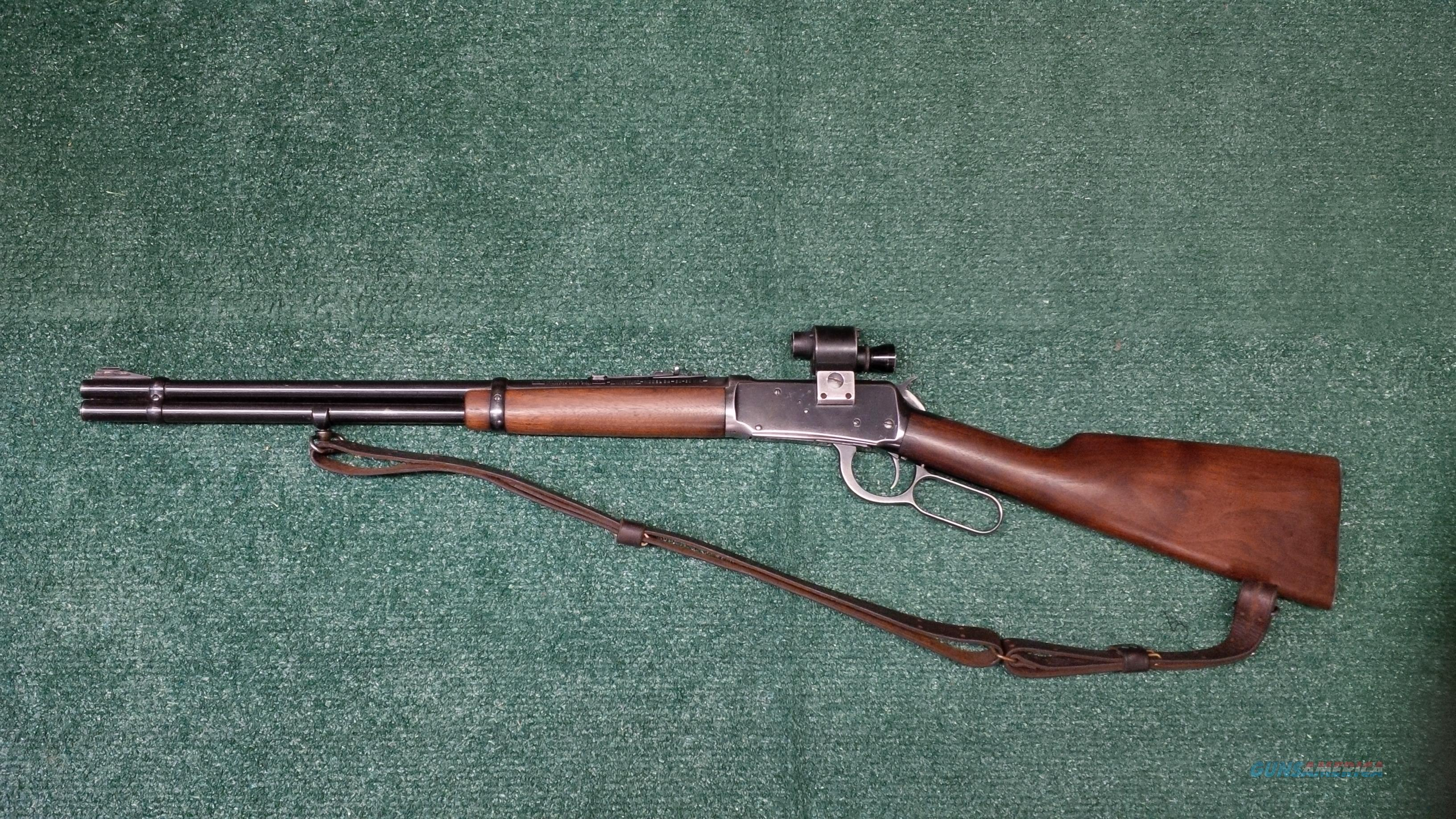 Winchester Pre 64 Model 94 .30-.30 With Rare Boone 2X Vintage Scope  Guns > Rifles > Winchester Rifles - Modern Lever > Model 94 > Pre-64