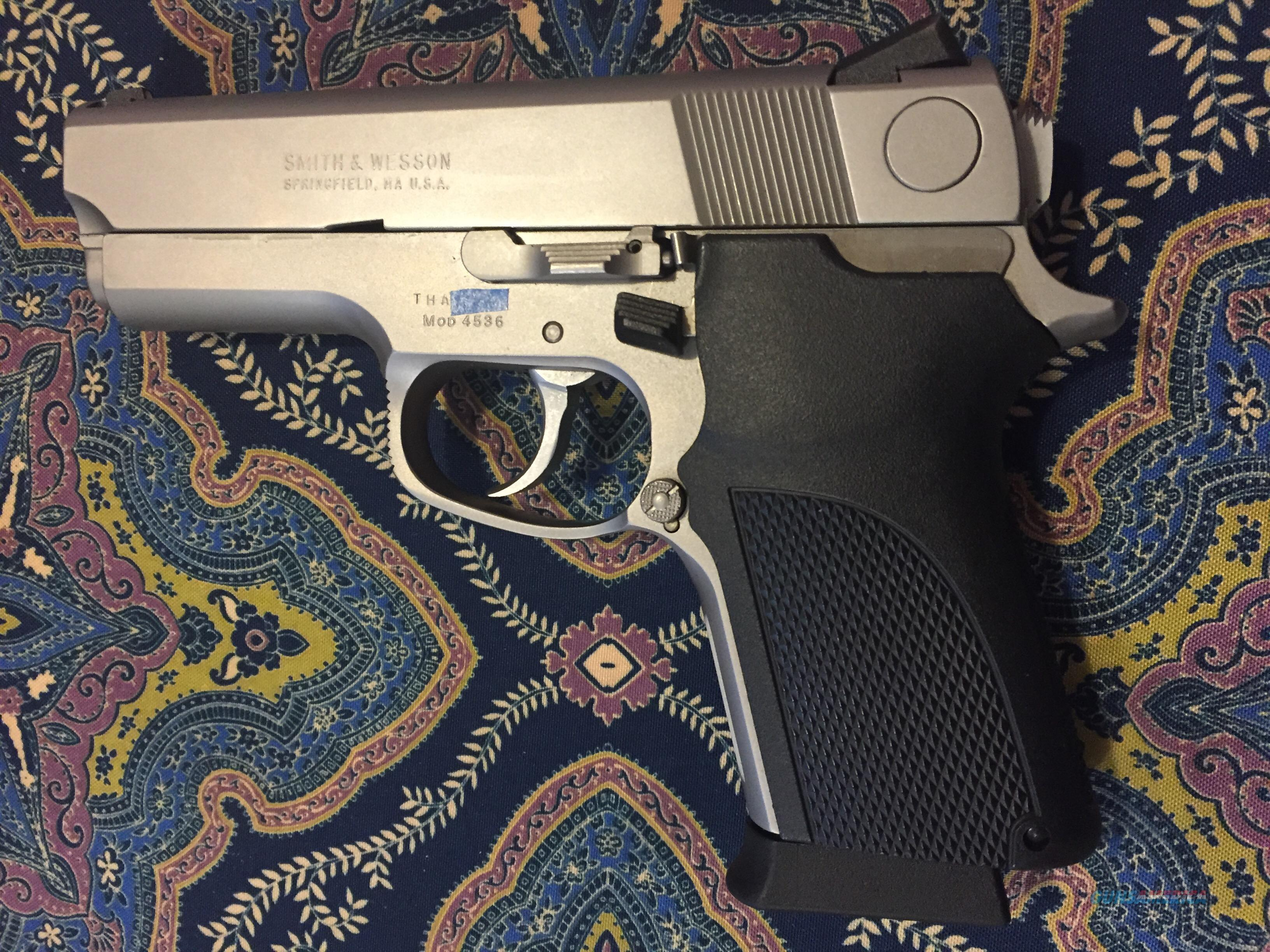 Smith and Wesson 4536, with original box and papers  Guns > Pistols > Smith & Wesson Pistols - Autos > Steel Frame
