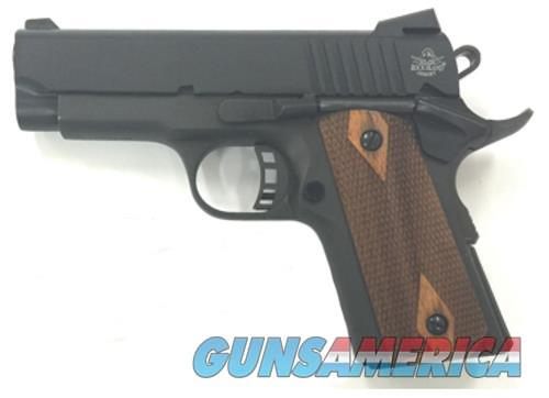 "CITADEL--1911-COMPACT 3.5"" Barrel .45 ACP PKZ/CHWD CHECKERED WOOD GRIPS 