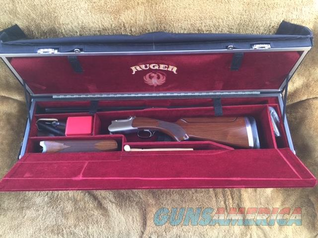 Ruger Red Label Special Edition Trigger Sports Briley Tube Set 12,20,28,410 Gauge w/Custom Ruger Americase Titanium Extended Chokes (One of a Kind)                                                                      Guns > Shotguns > Ruger Shotguns > Trap/Skeet