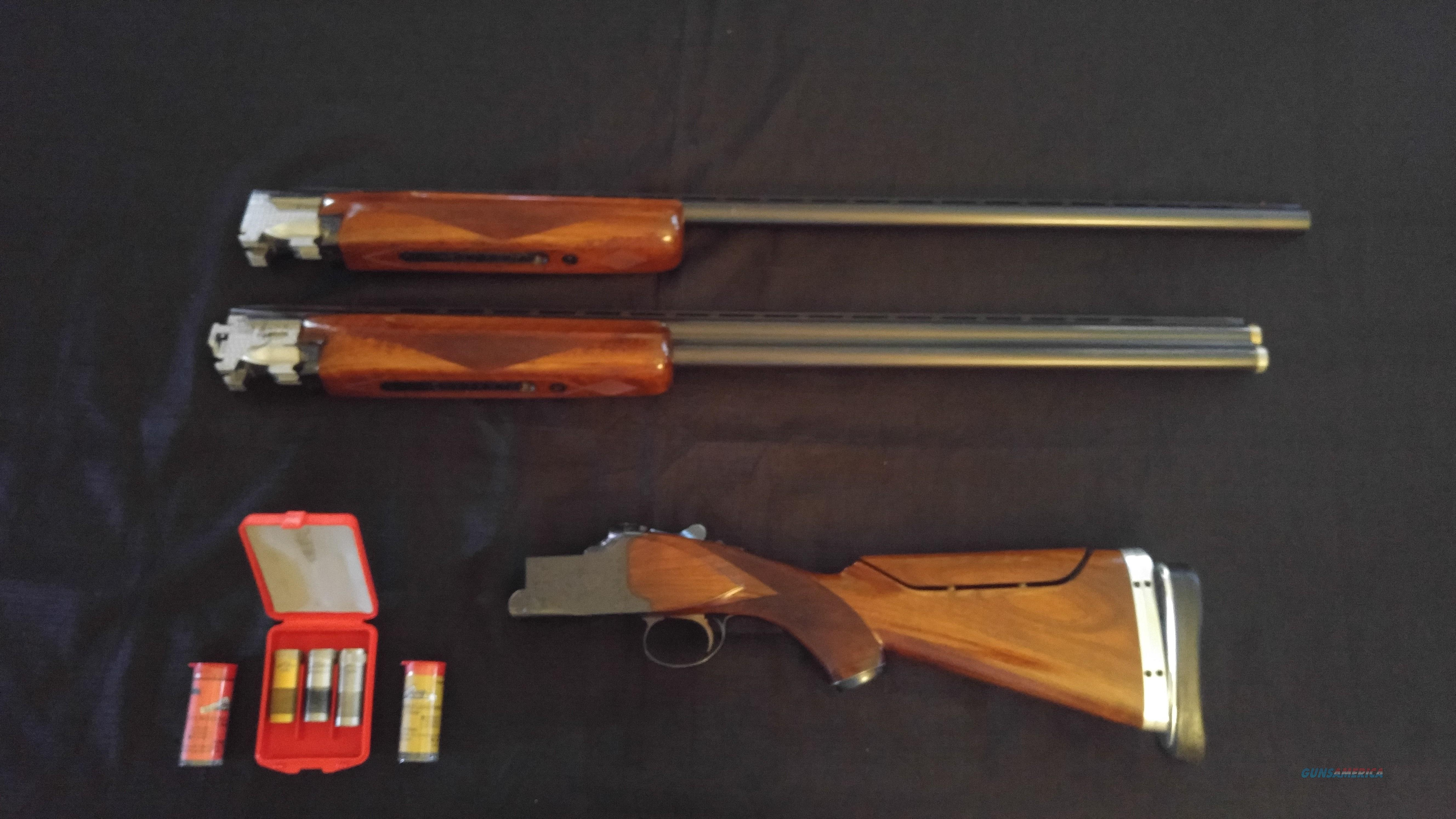 "Winchester 101 Two Barrel Trap Set 32"" O/U and 34"" Unsingle Barrels Adjustable Stock  Guns > Shotguns > Winchester Shotguns - Modern > O/U > Trap/Skeet"