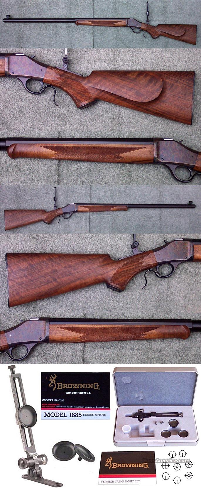 NIB Browning 1885 High Wall .45-70 BPCR  Guns > Rifles > Browning Rifles > Singe Shot
