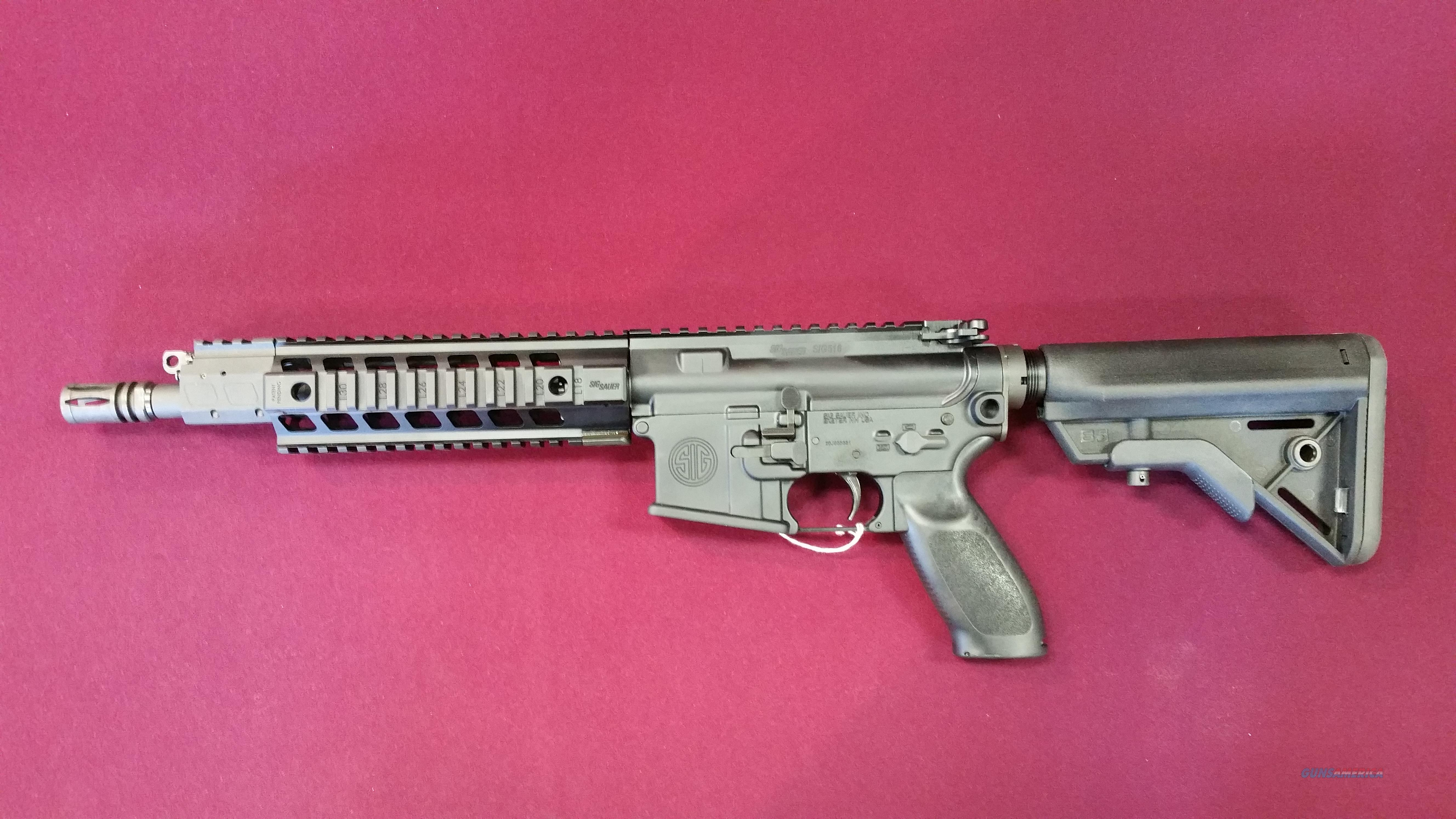 SIG SAUER SIG516 CQB SBR 5.56mm NATO 10 Inch  Guns > Rifles > Sig - Sauer/Sigarms Rifles