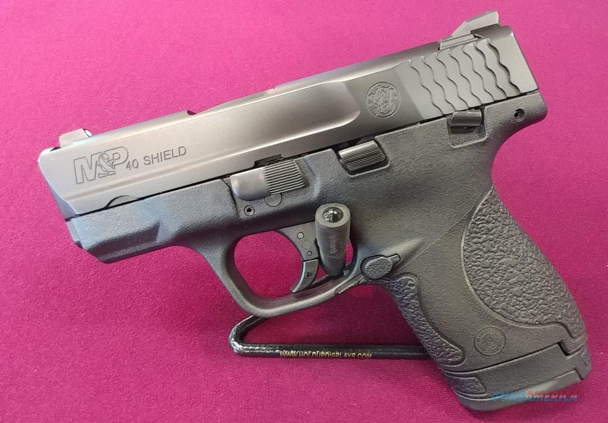 S&W Shield .40 S&W W/ Thumb Safety  Guns > Pistols > Smith & Wesson Pistols - Autos > Shield