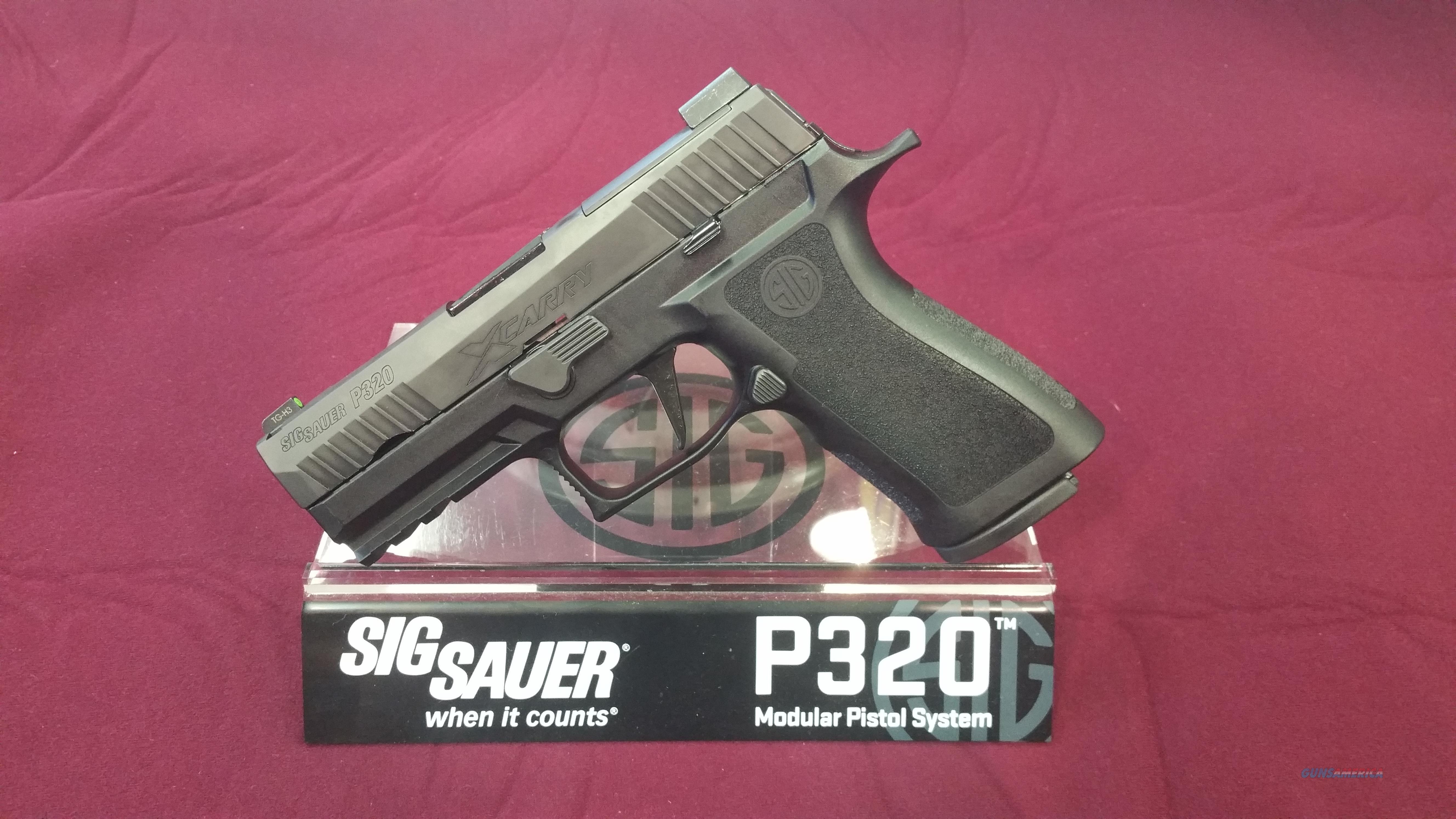Sig Sauer P320 X-Carry 9mm  Guns > Pistols > Sig - Sauer/Sigarms Pistols > P320