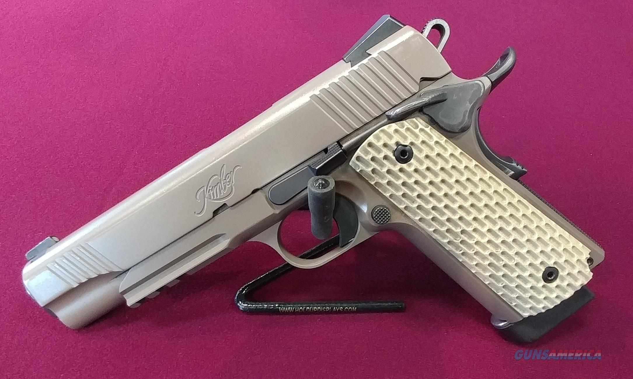 Kimber Desert Warrior .45 ACP  Guns > Pistols > Kimber of America Pistols > 1911