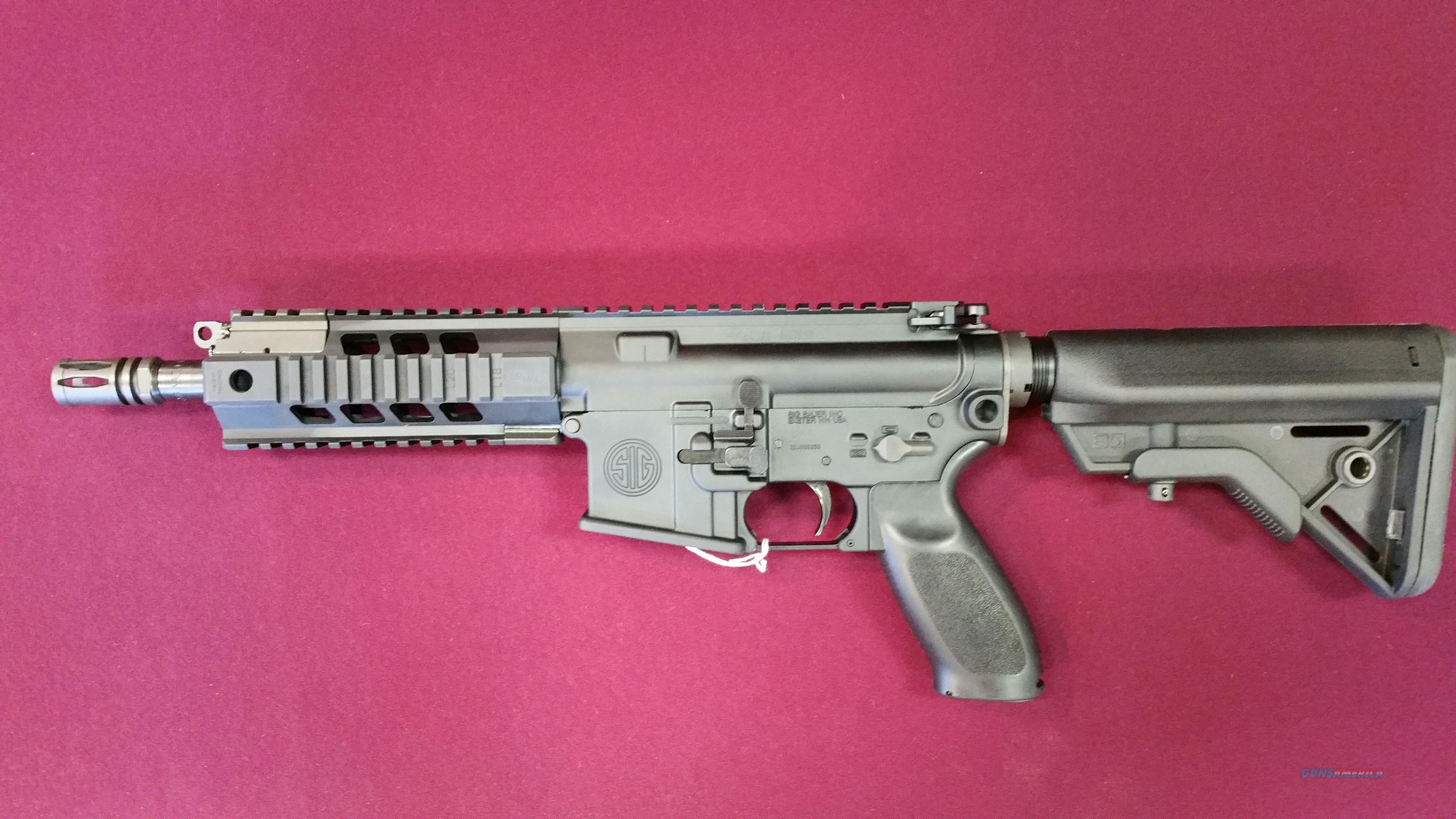 SIG SAUER SIG516 PDW SBR 5.56mm NATO 7.5 Inch Barrel   Guns > Rifles > Sig - Sauer/Sigarms Rifles