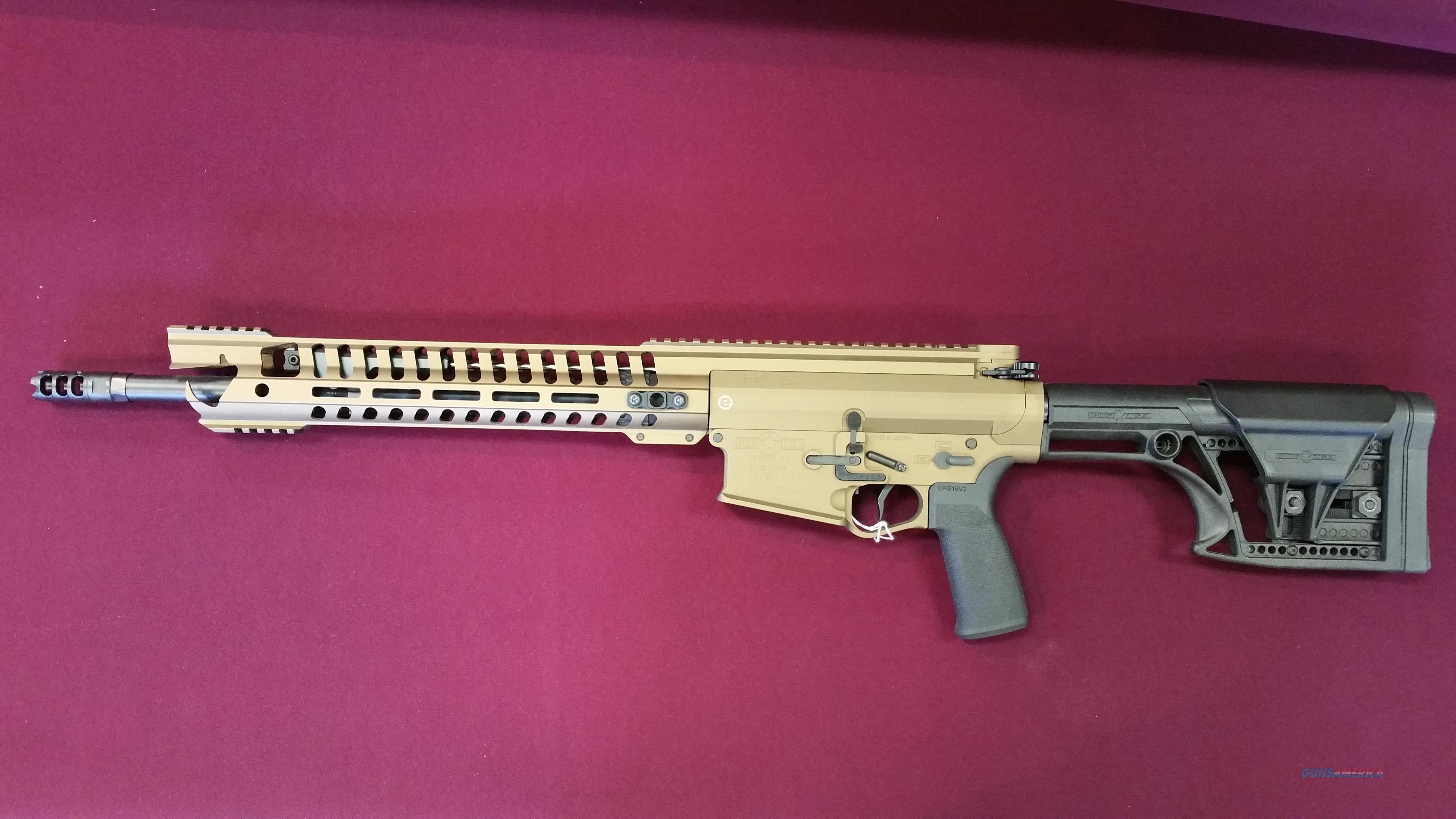 POF War Hog .308WIN Burnt Bronze  Guns > Rifles > Patriot Ordnance Factory - POF USA > Complete Rifles