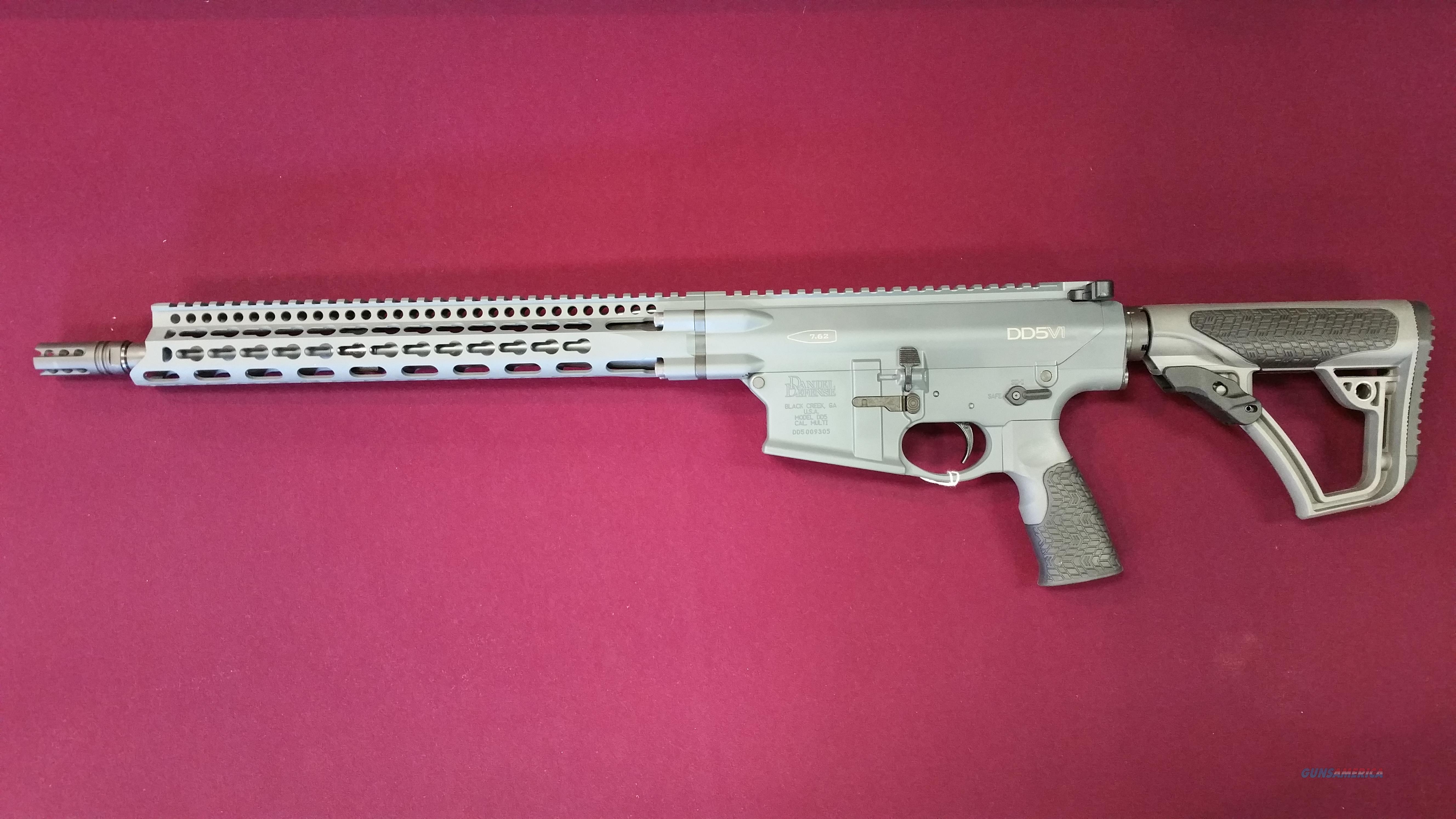 Daniel Defense DD5V1 .308WIN Keymod Tornado Grey  Guns > Rifles > Daniel Defense > Complete Rifles