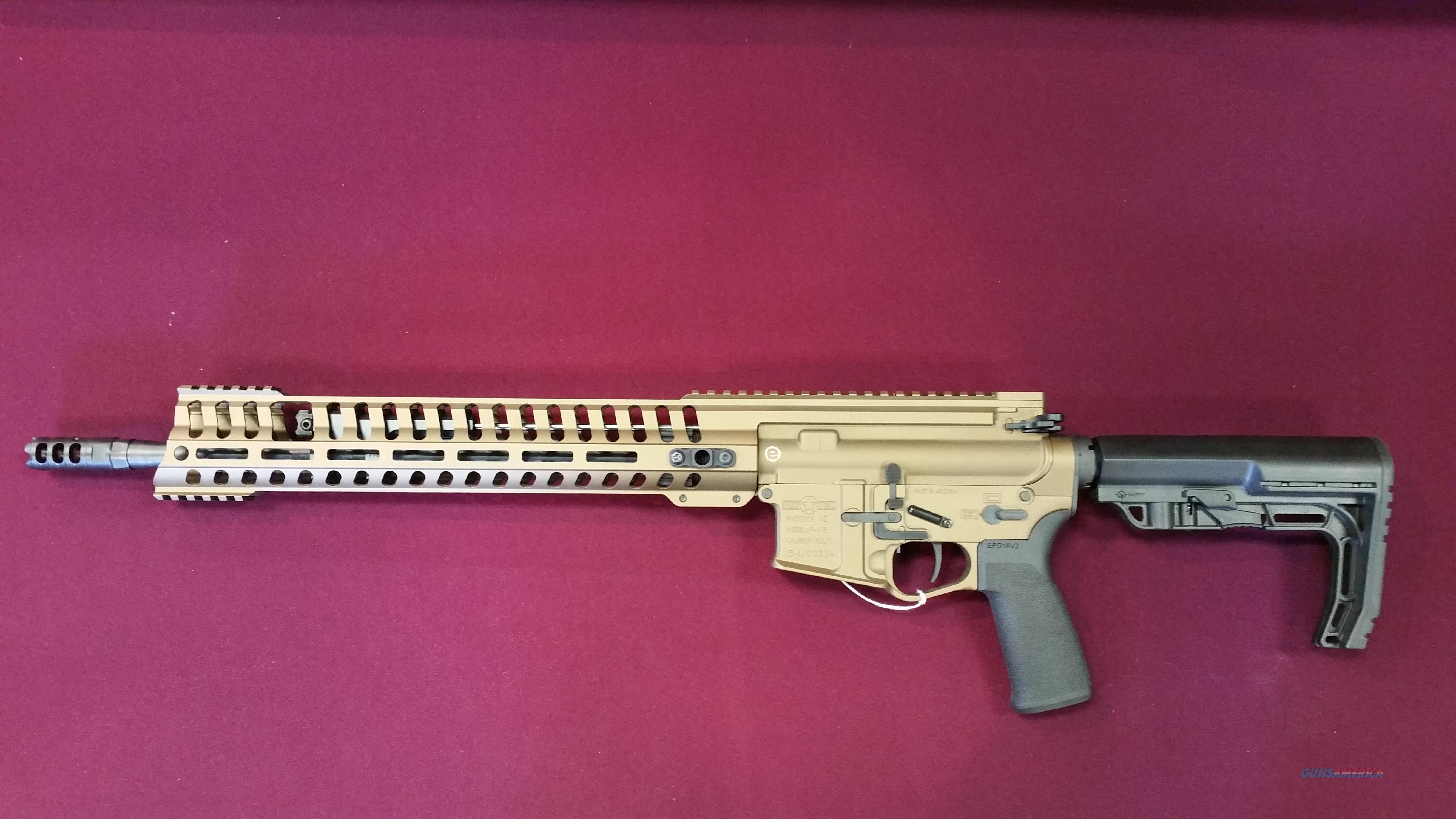 POF P-415 Edge Bronze Cerakote 16in 5.56 NATO  Guns > Rifles > Patriot Ordnance Factory - POF USA > Complete Rifles