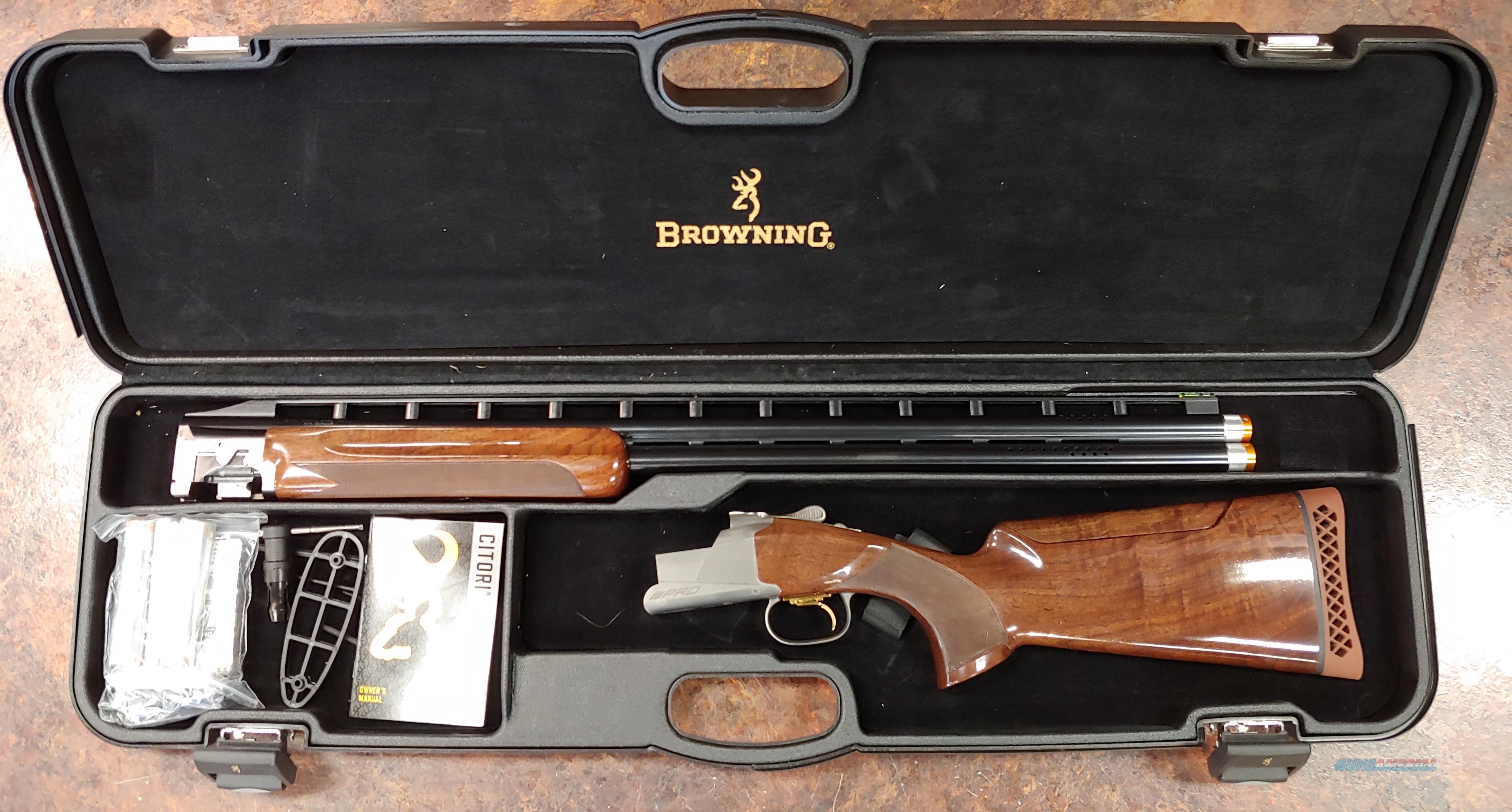 "BROWNING CITORI 725 TRAP ADJUSTABLE COMB 12GA 30"" 2.75""   Guns > Shotguns > Browning Shotguns > Over Unders > Citori > Trap/Skeet"