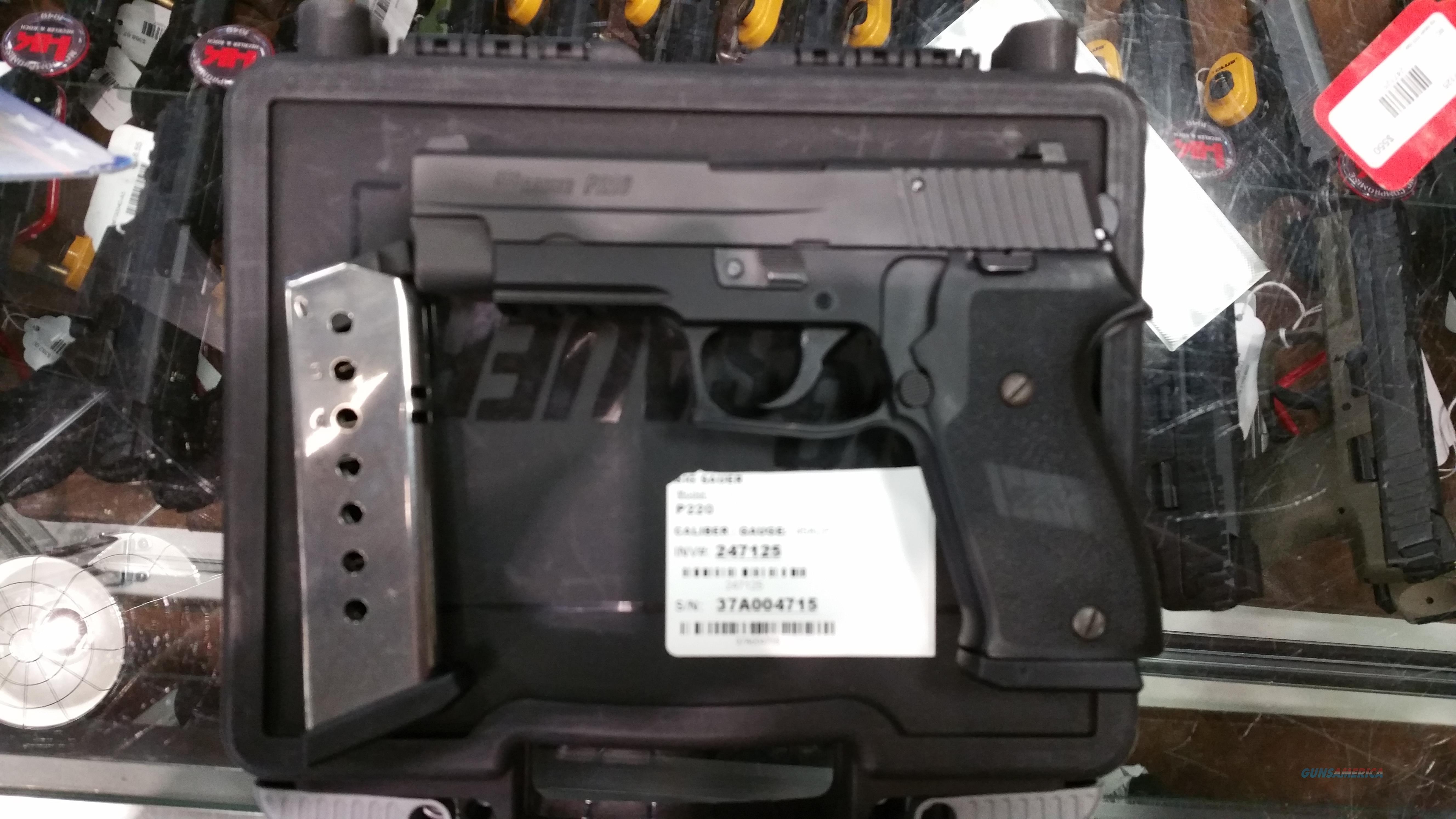 Sig Sauer P220 DAK .45 ACP  Guns > Pistols > Sig - Sauer/Sigarms Pistols > P220