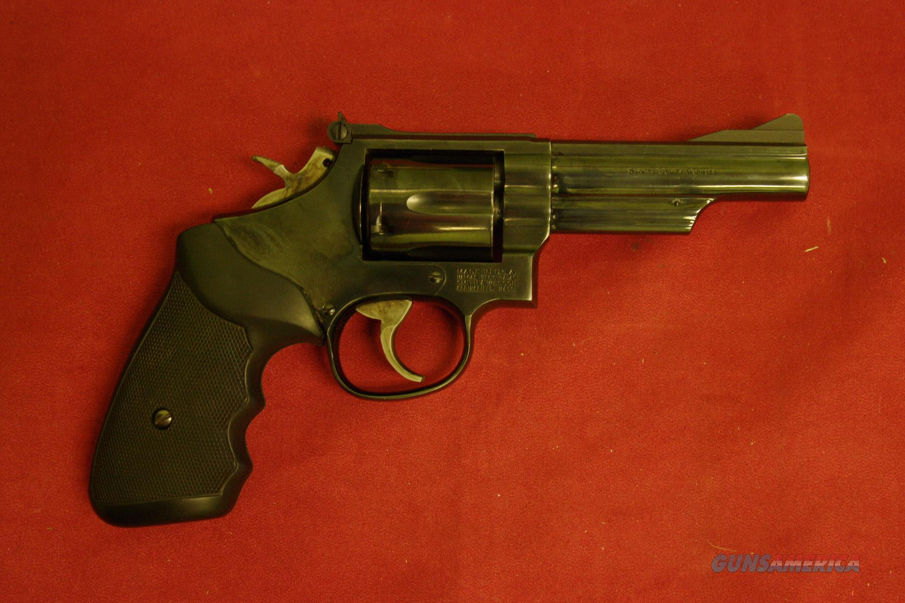 "Smith & Wesson M-19-5  4"" 357 Magnum  Guns > Pistols > Smith & Wesson Revolvers > Med. Frame ( K/L )"