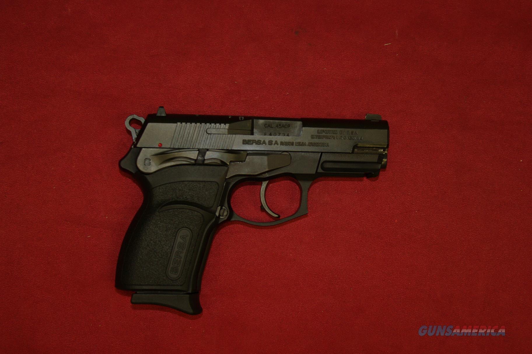 Bersa Thunder Ultra Compact Pro .45  Guns > Pistols > Bersa Pistols