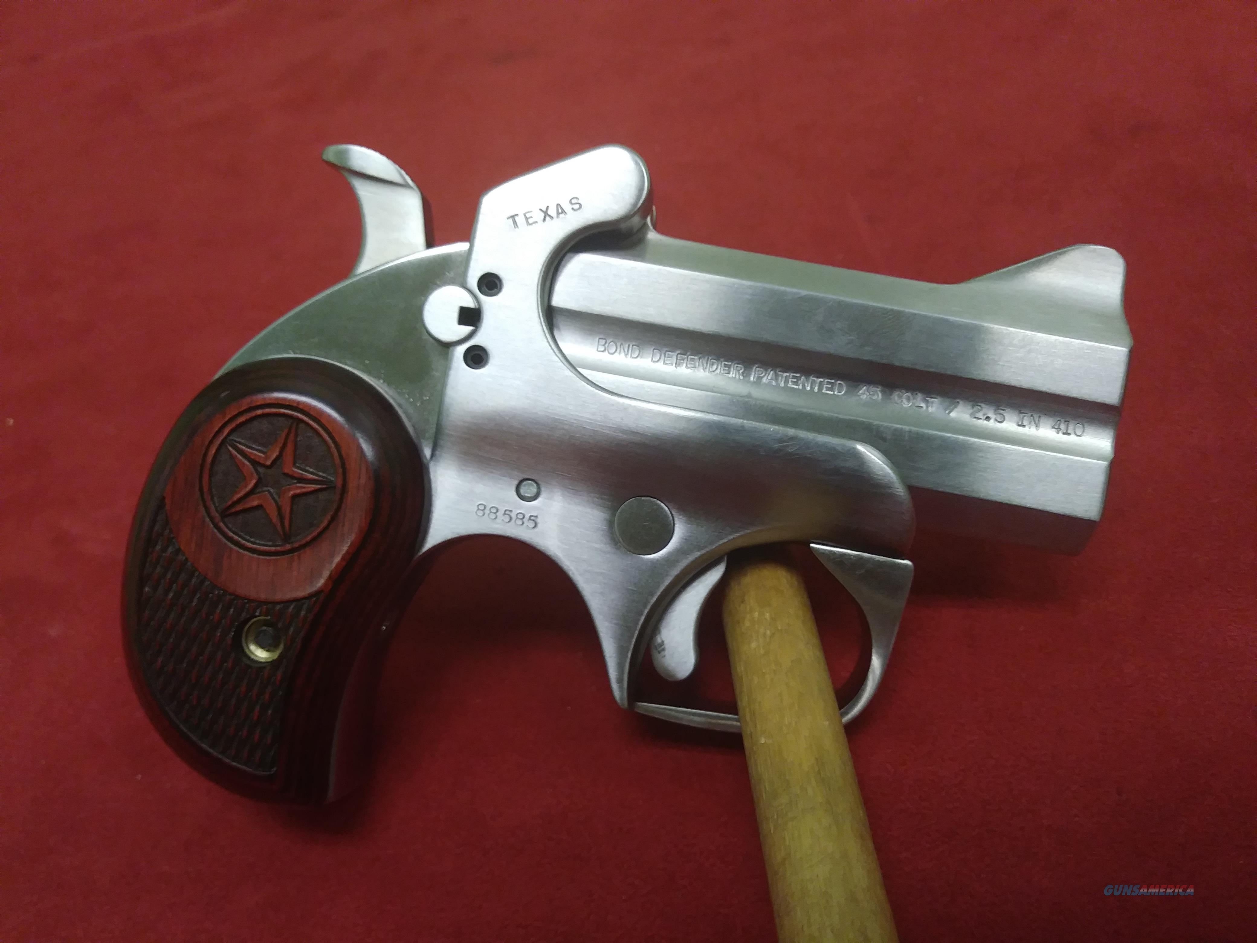 Bond Arms Defender, .45 Long Colt/.410 ga  Guns > Pistols > Bond Derringers