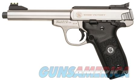Smith & Wesson Victory .22LR Threaded Barrel  Guns > Pistols > Smith & Wesson Pistols - Autos > .22 Autos