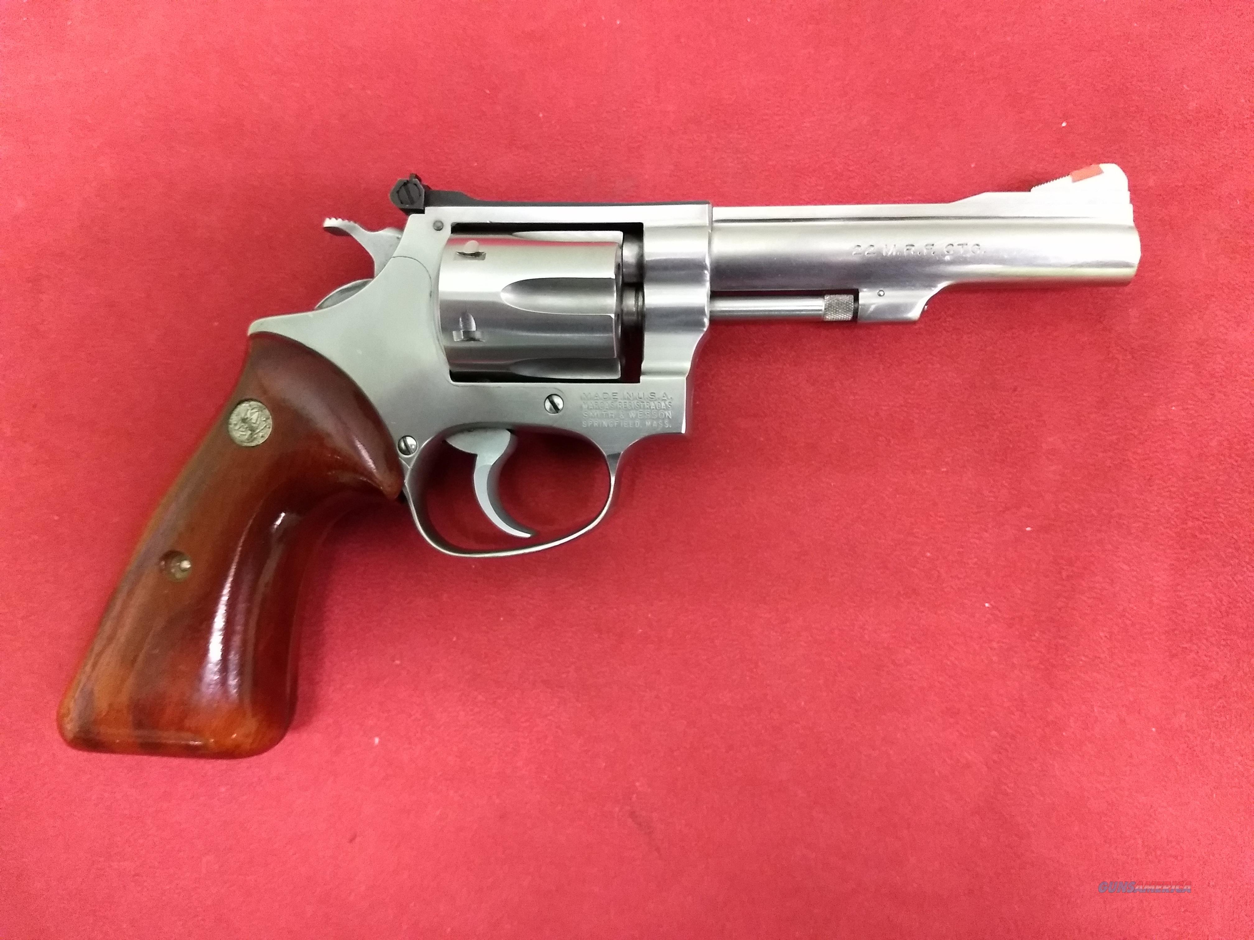 S&W Model 651, .22 MRF (WMR), Rare! Great Shape!  Guns > Pistols > Smith & Wesson Revolvers > Med. Frame ( K/L )