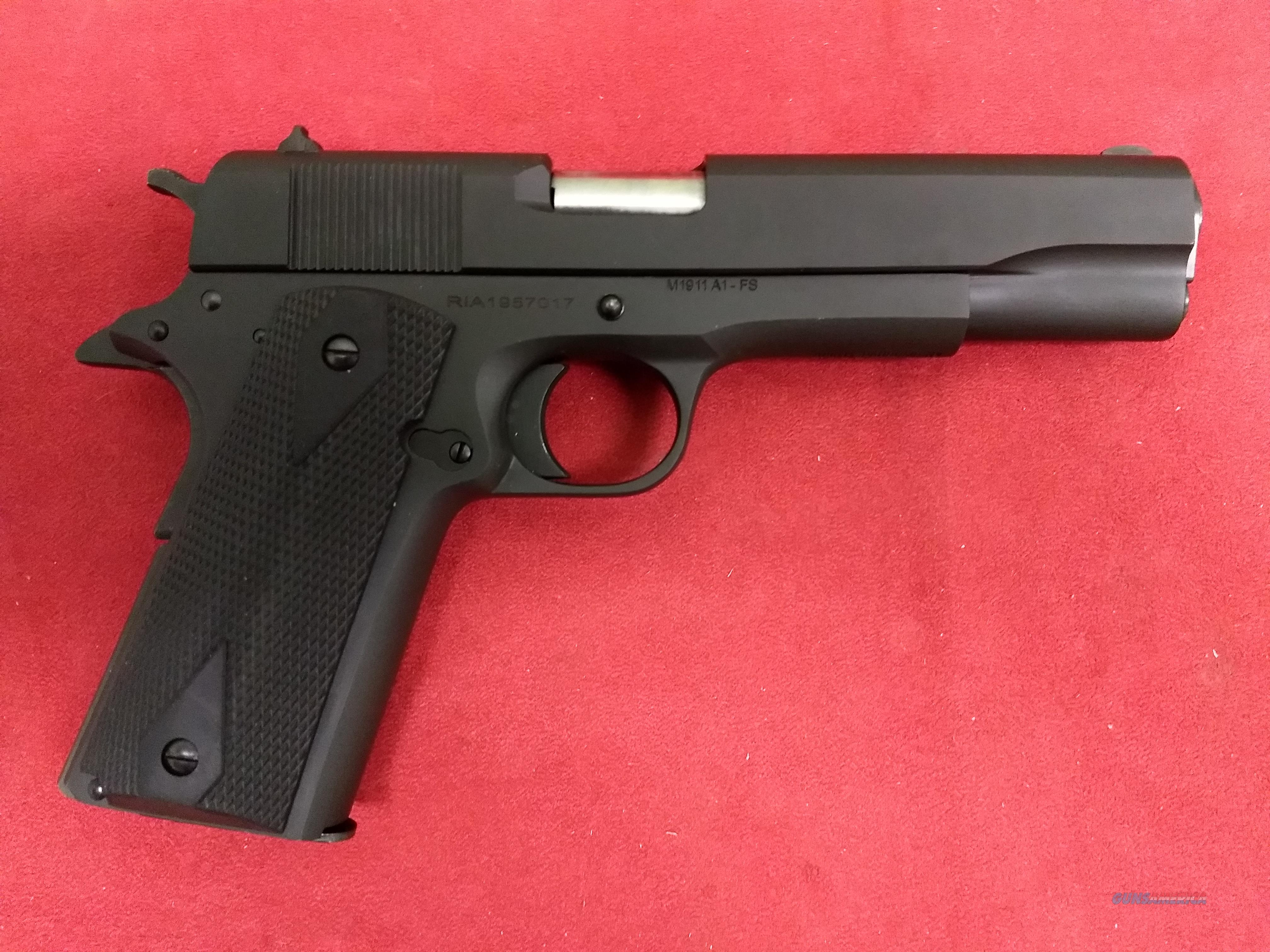 Rock Island Armory M1911A1-FS, .38 Super, NIB  Guns > Pistols > Rock Island Armory Pistols > Rock Island