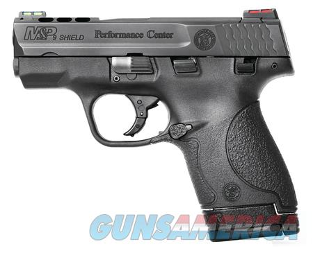 Smith & Wesson  Shield 9mm Ported  Guns > Pistols > Smith & Wesson Pistols - Autos > Shield