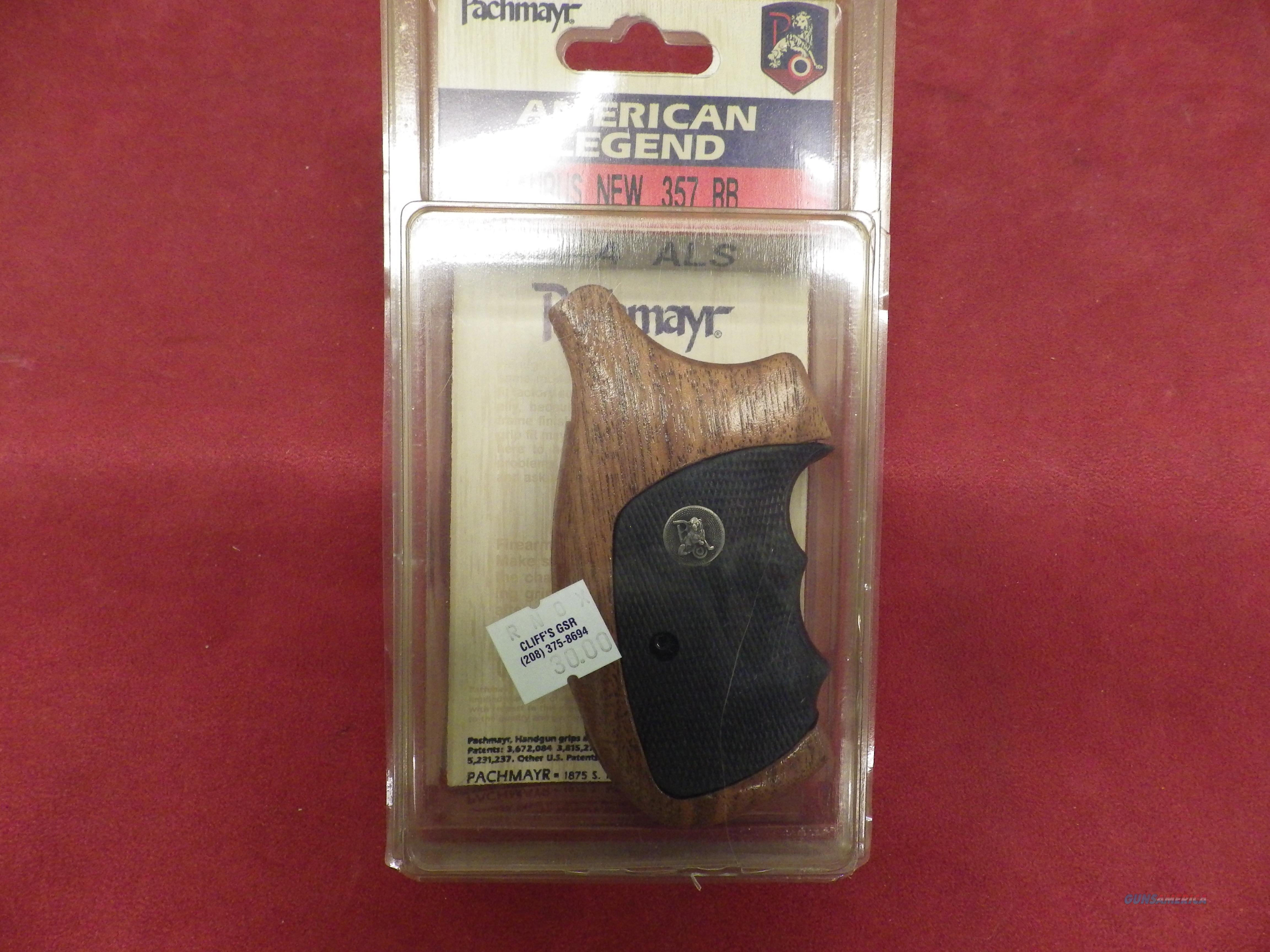 Pachmayr Handgun Grips for Taurus New .357 RB  Non-Guns > Gunstocks, Grips & Wood