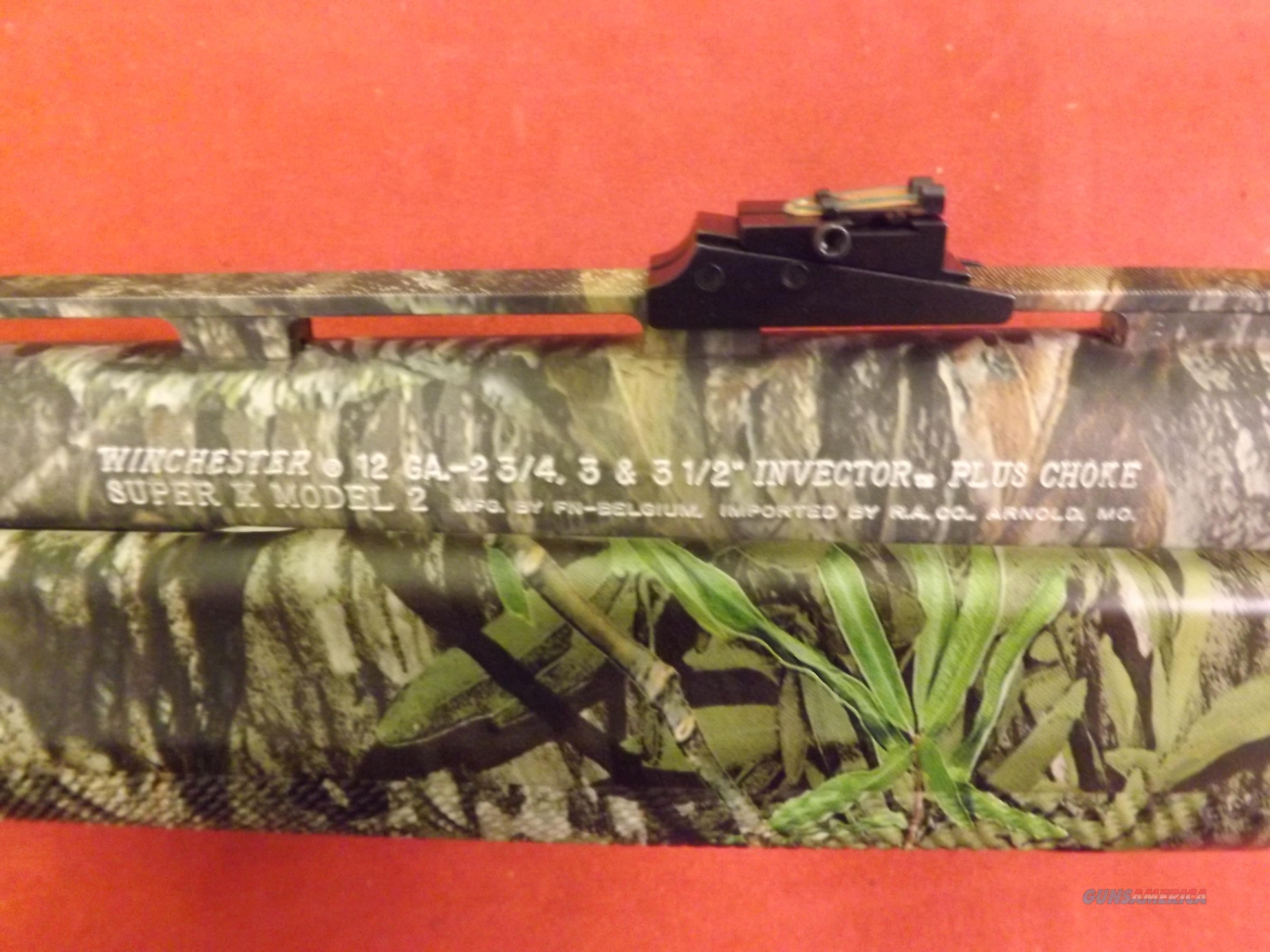 "Winchester Super X2 Camo shotgun. 3.5"" Chamber Like New!  Guns > Shotguns > Winchester Shotguns - Modern > Autoloaders > Hunting"