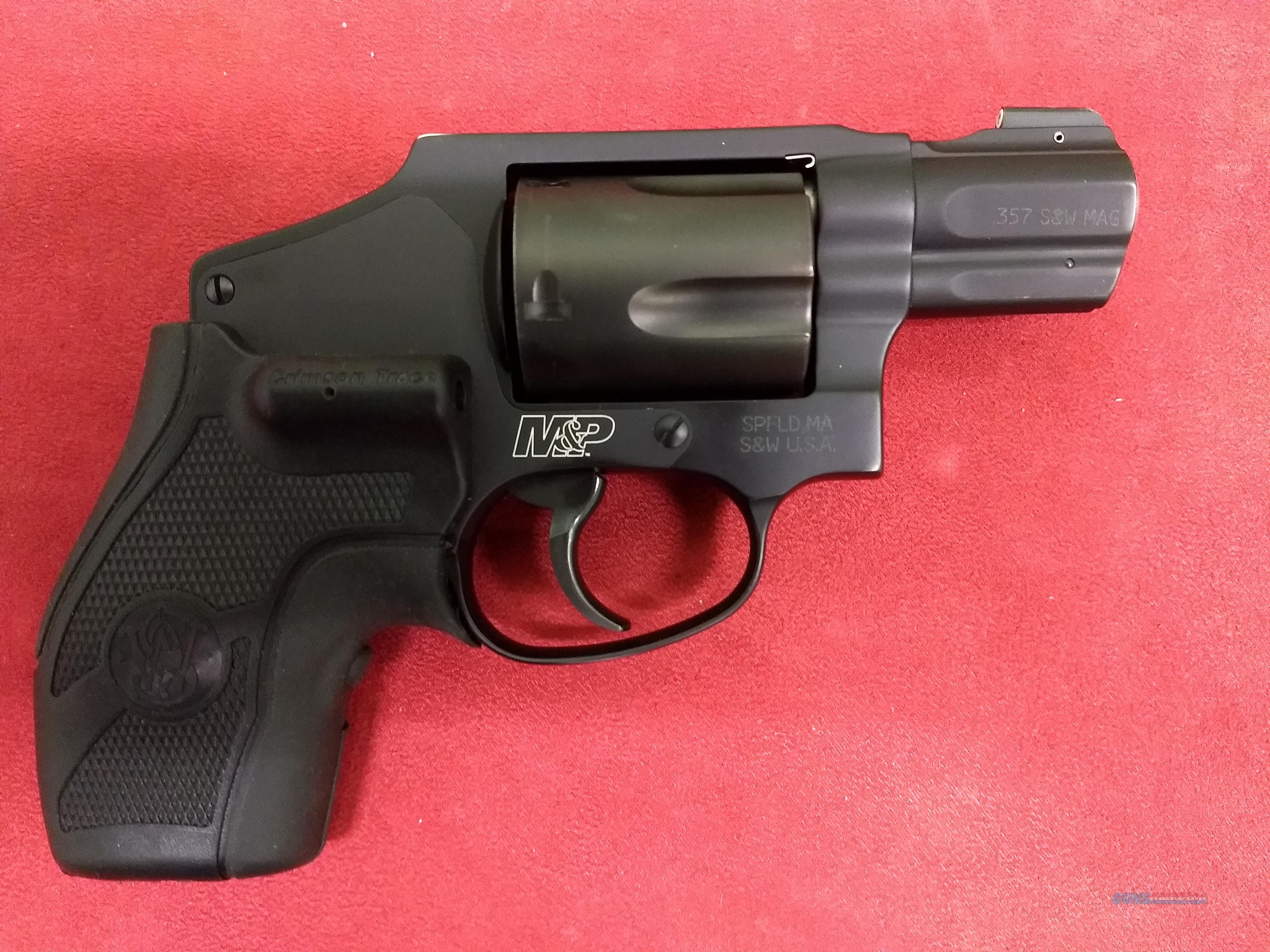 S&W M&P 340, .357 Mag, w/ Night Sights, Laser Grip, & Holster!  Guns > Pistols > Smith & Wesson Revolvers > Small Frame ( J )