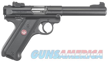 Ruger Mark IV Blued Target .22LR   Guns > Pistols > Ruger Semi-Auto Pistols > Mark I/II/III/IV Family