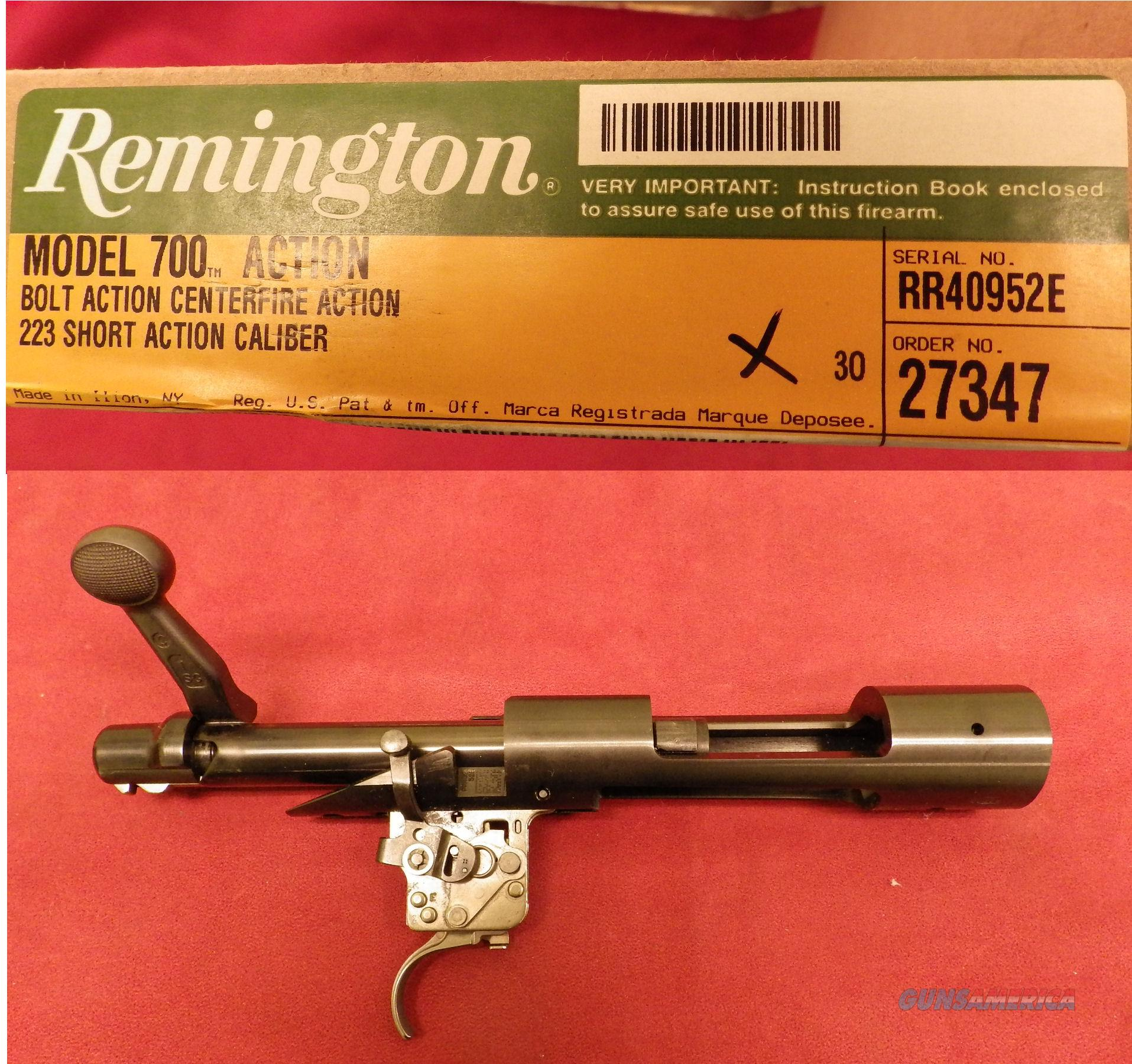 Remington 700 RH Short Action Only, .223 Bolt Face, NIB  Guns > Rifles > Remington Rifles - Modern > Model 700 > Sporting