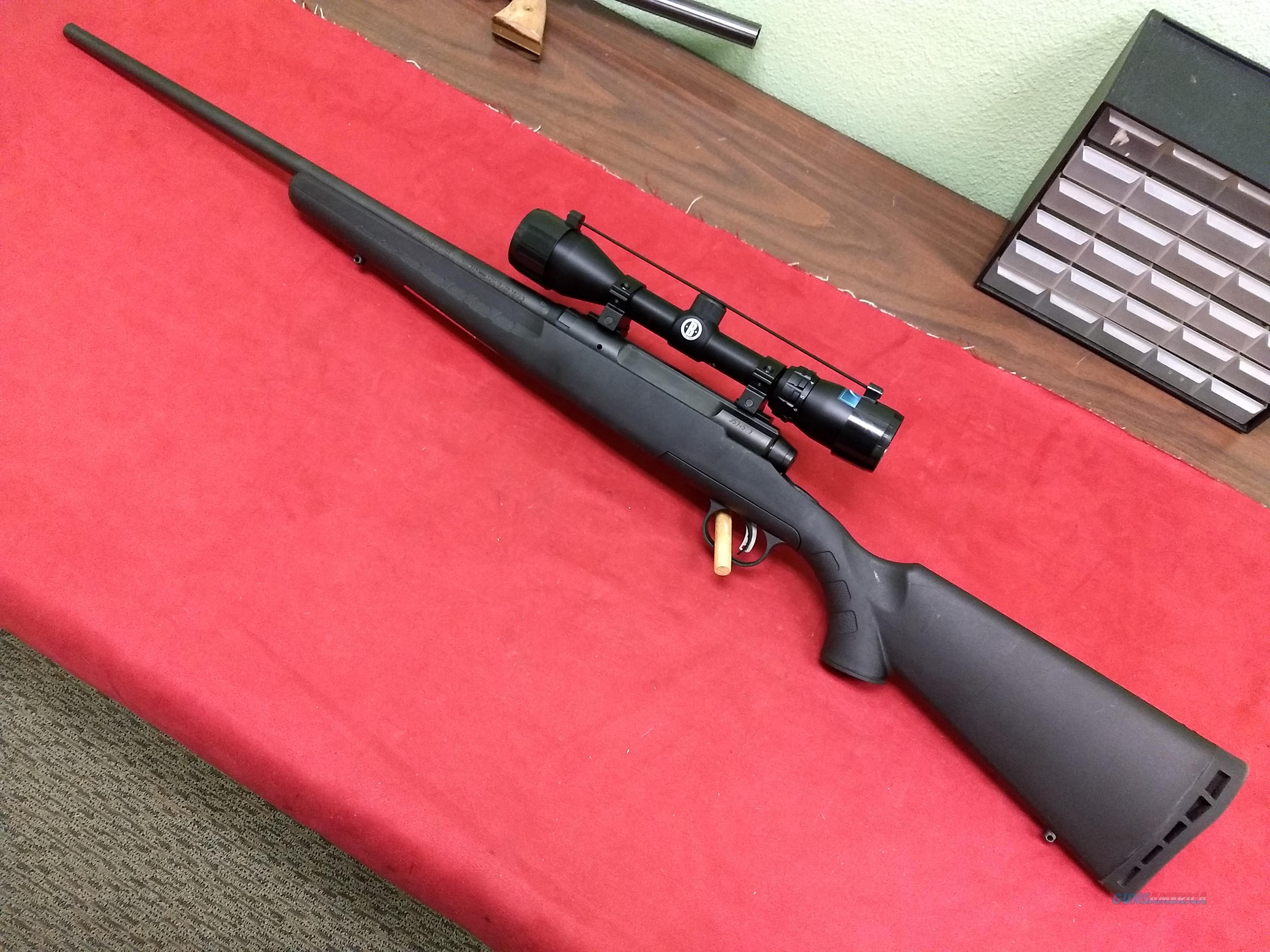 Savage Axis Rifle with Bushnell 3-9X40 Scope, .30-06 Caliber  Guns > Rifles > Savage Rifles > Axis