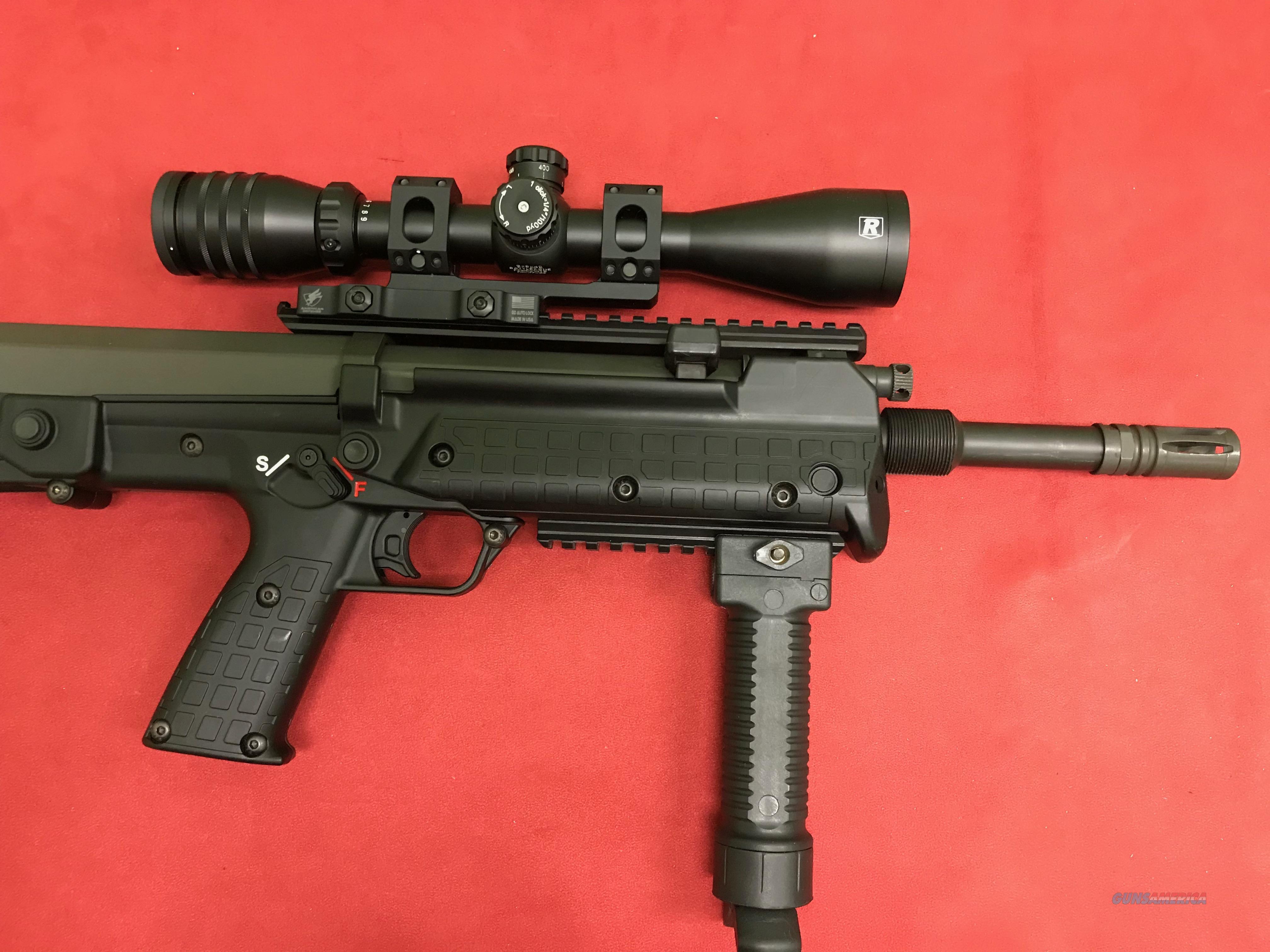 Kel-Tec RFB, .308 Win, w/ Scope, Like New!  Guns > Rifles > Kel-Tec Rifles