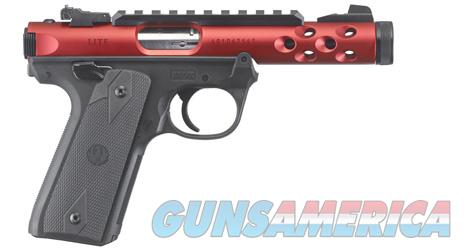 Ruger MkIV 22/45 Lite, .22 LR, Red Receiver, NIB  Guns > Pistols > Ruger Semi-Auto Pistols > 22/45