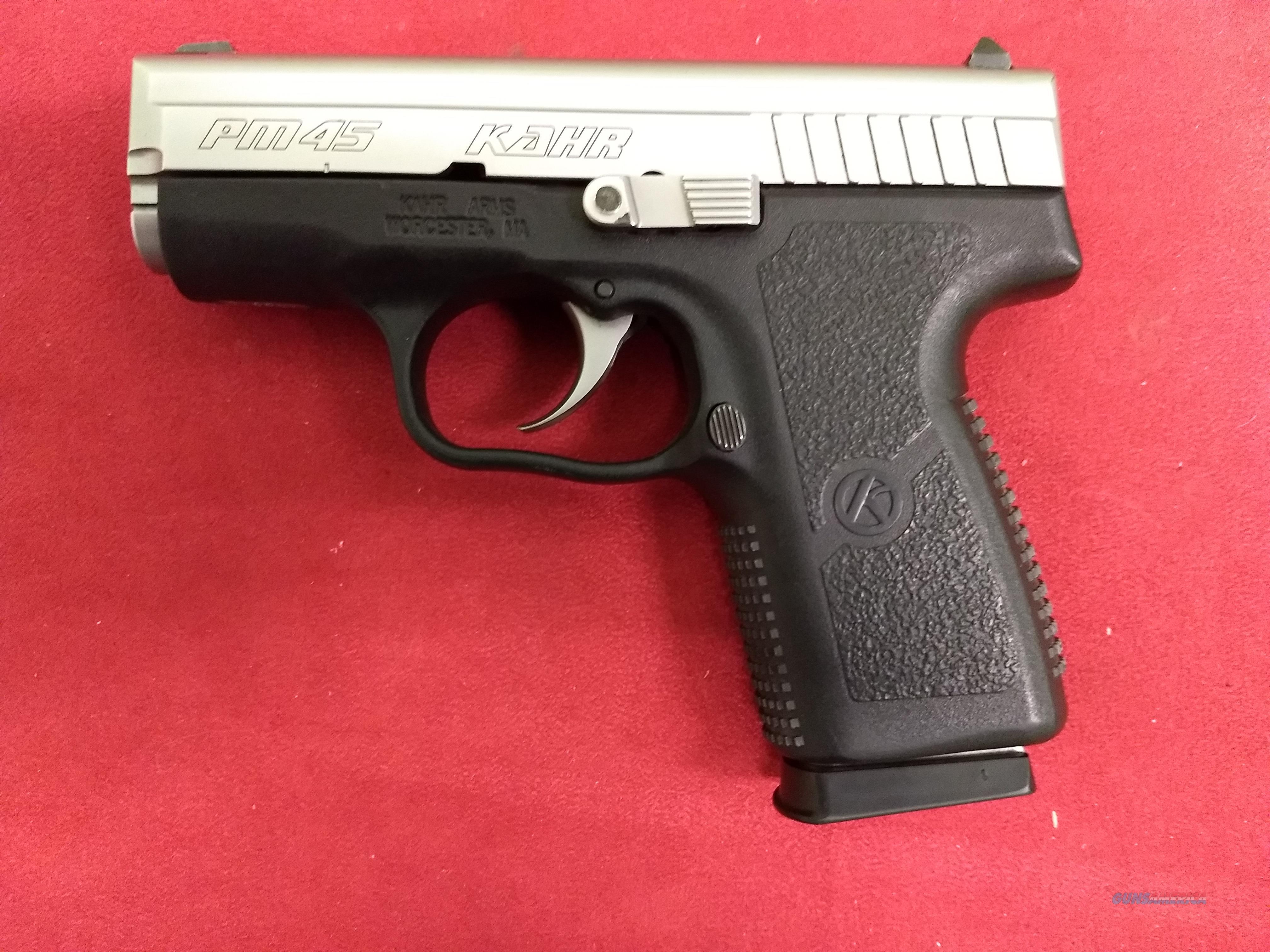 Kahr PM45  Guns > Pistols > Kahr Pistols