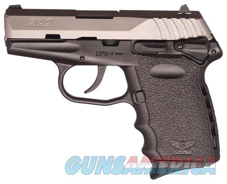 SCCY Industries CPX-1-TT 9mm  Guns > Pistols > SCCY Pistols > CPX1