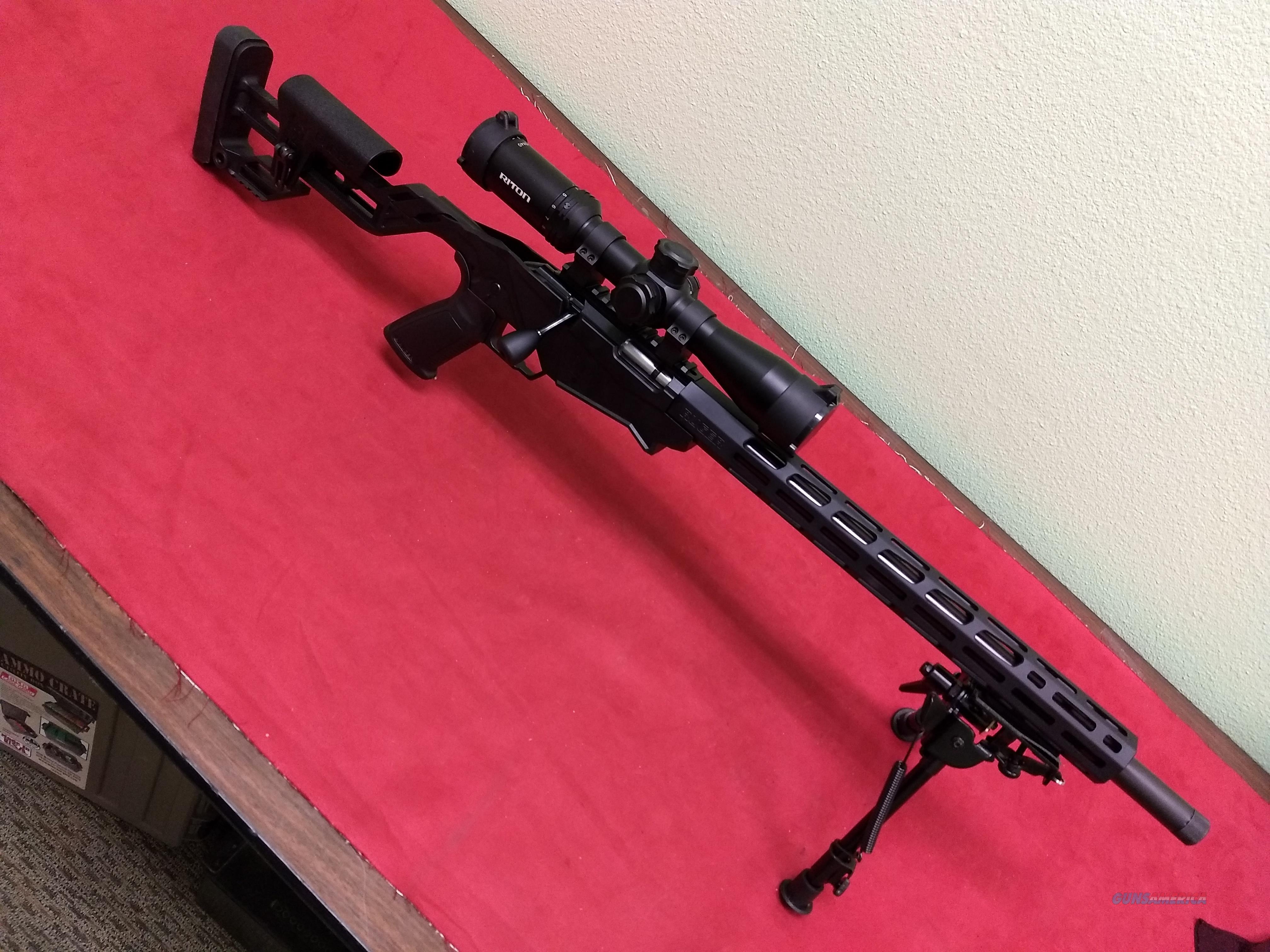 Ruger Precision Rimfire Rifle, .22 LR, NIB, w/Cliff's Package Deal!  Guns > Rifles > Ruger Rifles > Precision Rifle Series