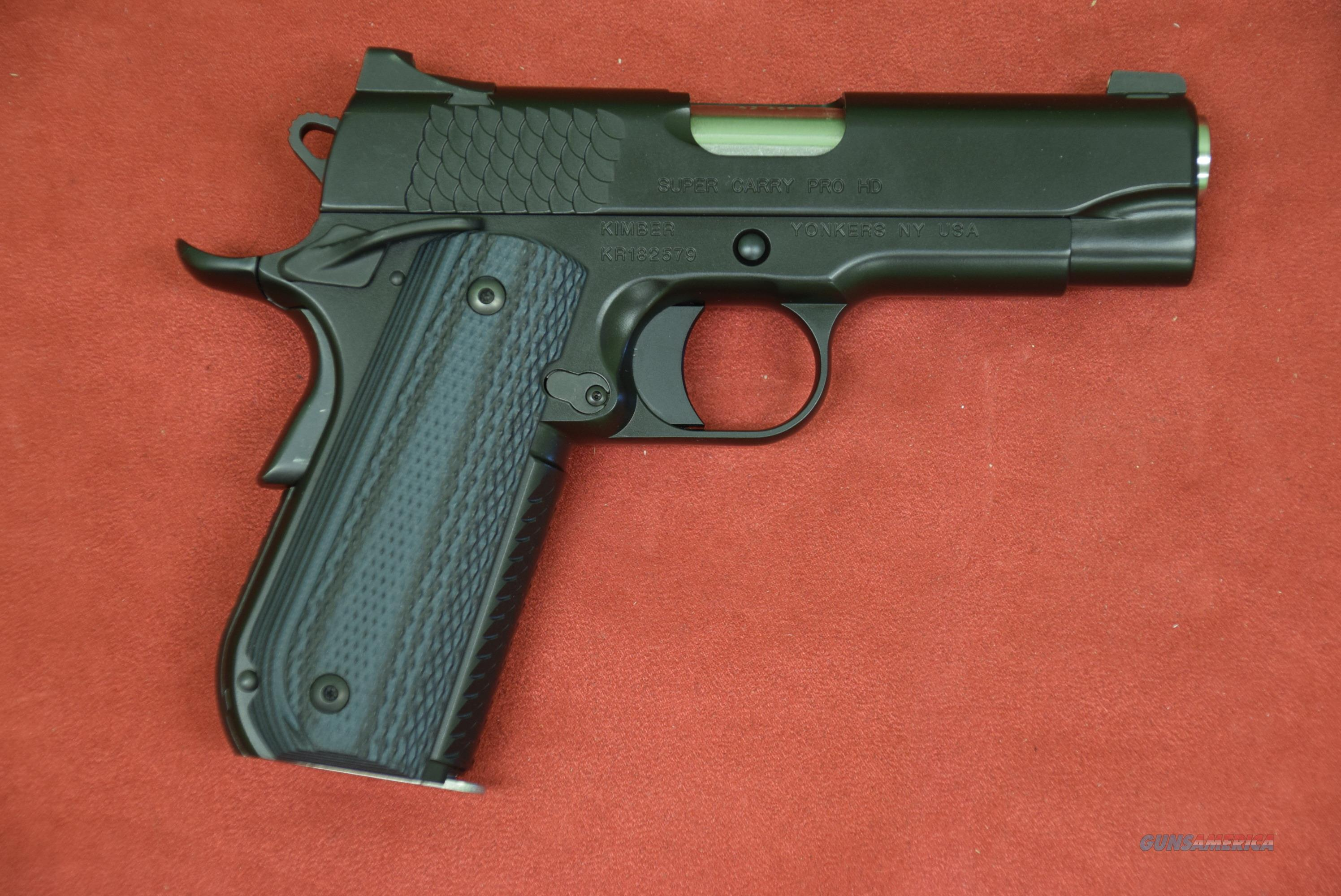 Kimber Super Carry Pro HD   Guns > Pistols > Kimber of America Pistols > 1911