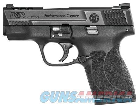Smith & Wesson  Shield .45ACP Ported  Guns > Pistols > Smith & Wesson Pistols - Autos > Shield