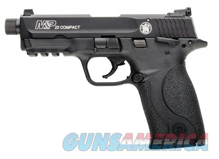Smith & Wesson M&P22 Compact w/Threaded Barrel  Guns > Pistols > Smith & Wesson Pistols - Autos > .22 Autos
