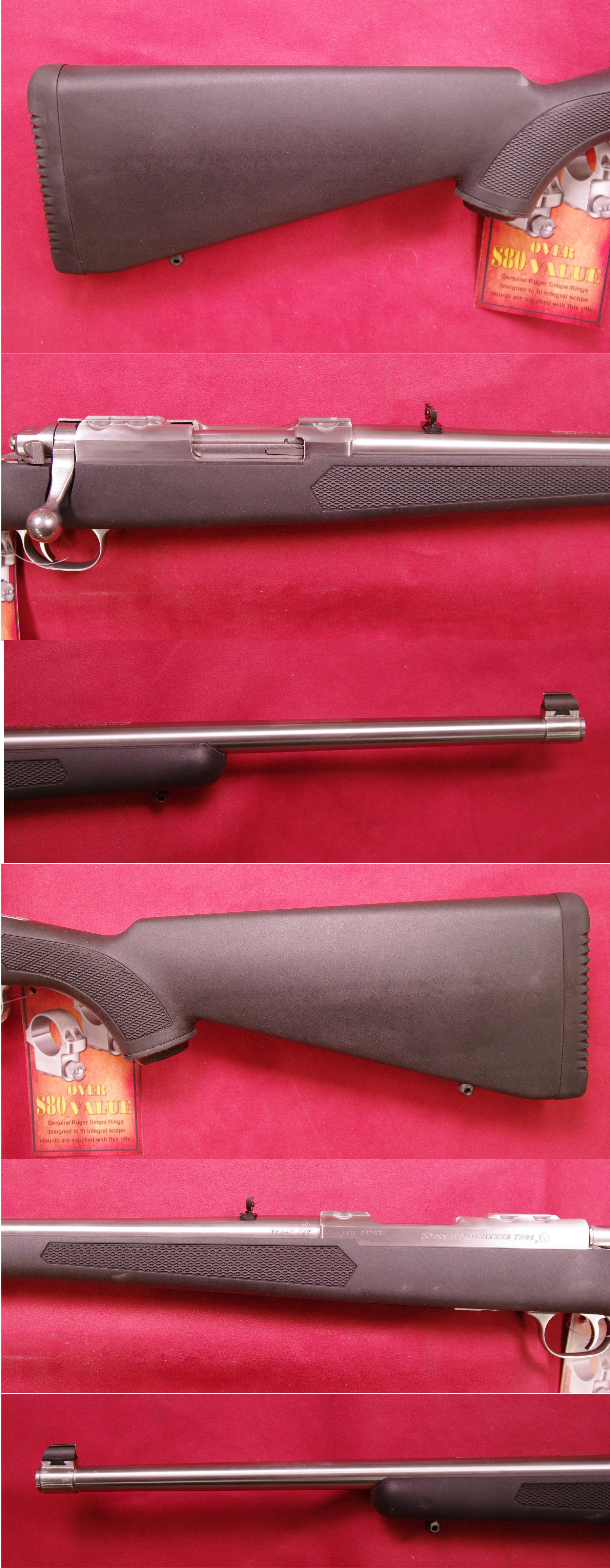 Ruger M-77/44 Stainless Steel  Guns > Rifles > Ruger Rifles > Model 77